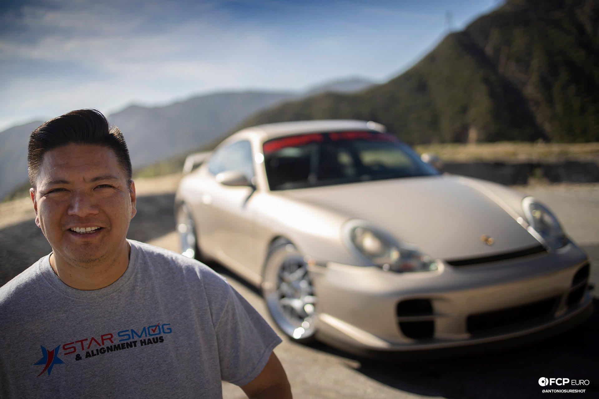 Porsche 911 996 6spd M96 Bilstein B8 Stoptech Eibach Forgestar EOSR0817