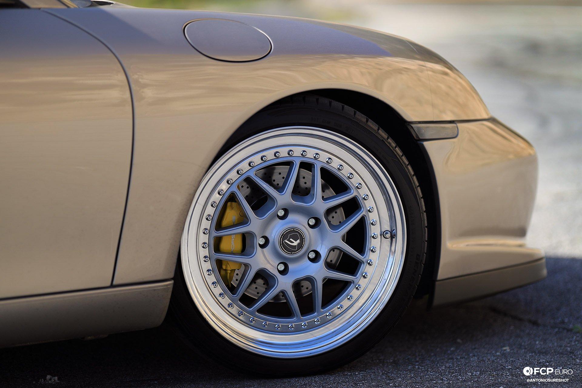 Porsche 911 996 6spd M96 Bilstein B8 Stoptech Eibach Forgestar EOSR0838