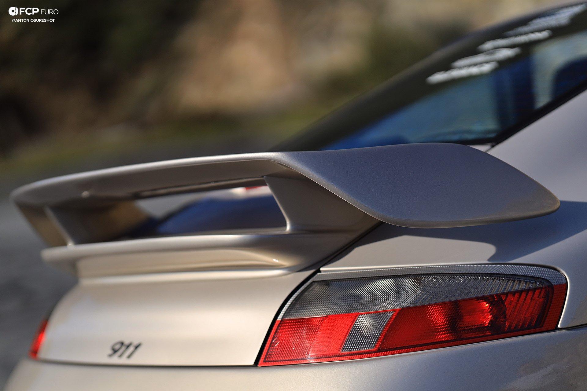 Porsche 911 996 6spd M96 Bilstein B8 Stoptech Eibach Forgestar EOSR0846