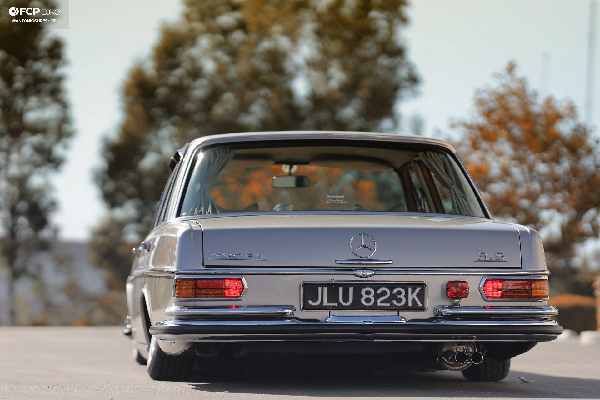 RHD 1972 Mercedes W108 280SE EOSR9729