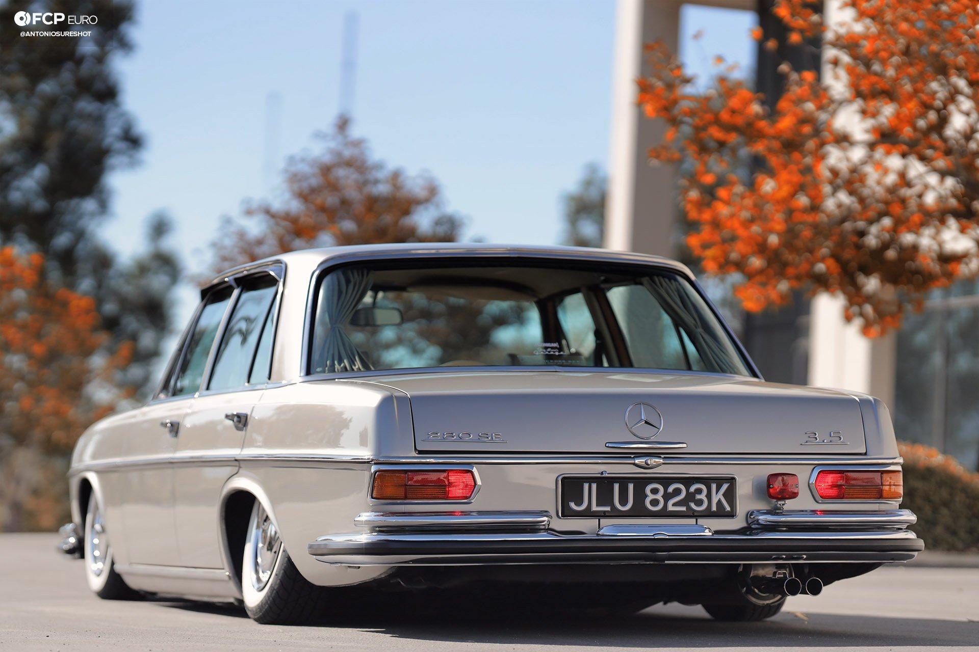 RHD 1972 Mercedes W108 280SE EOSR9733