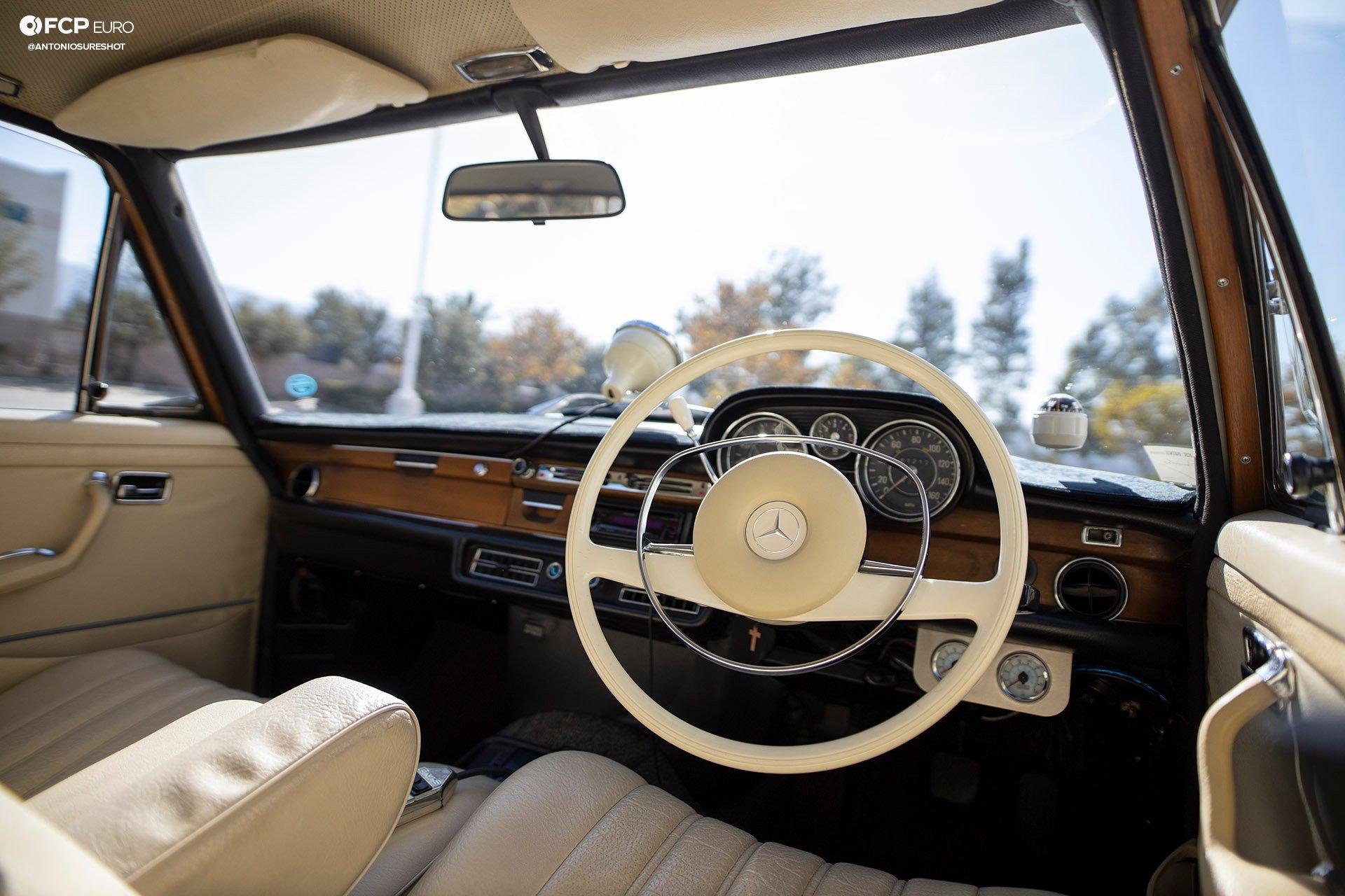 RHD 1972 Mercedes W108 280SE EOSR9741