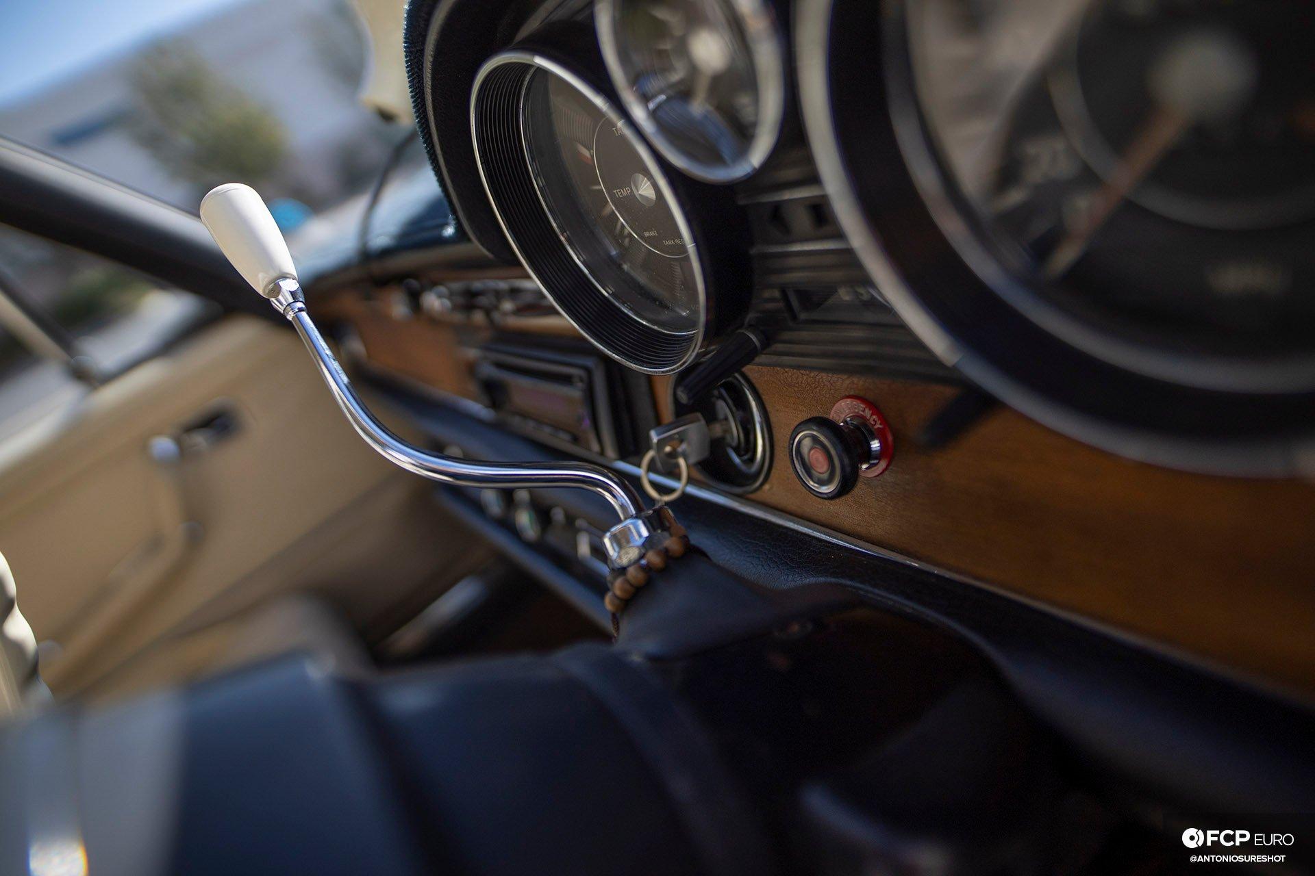 RHD 1972 Mercedes W108 280SE EOSR9753