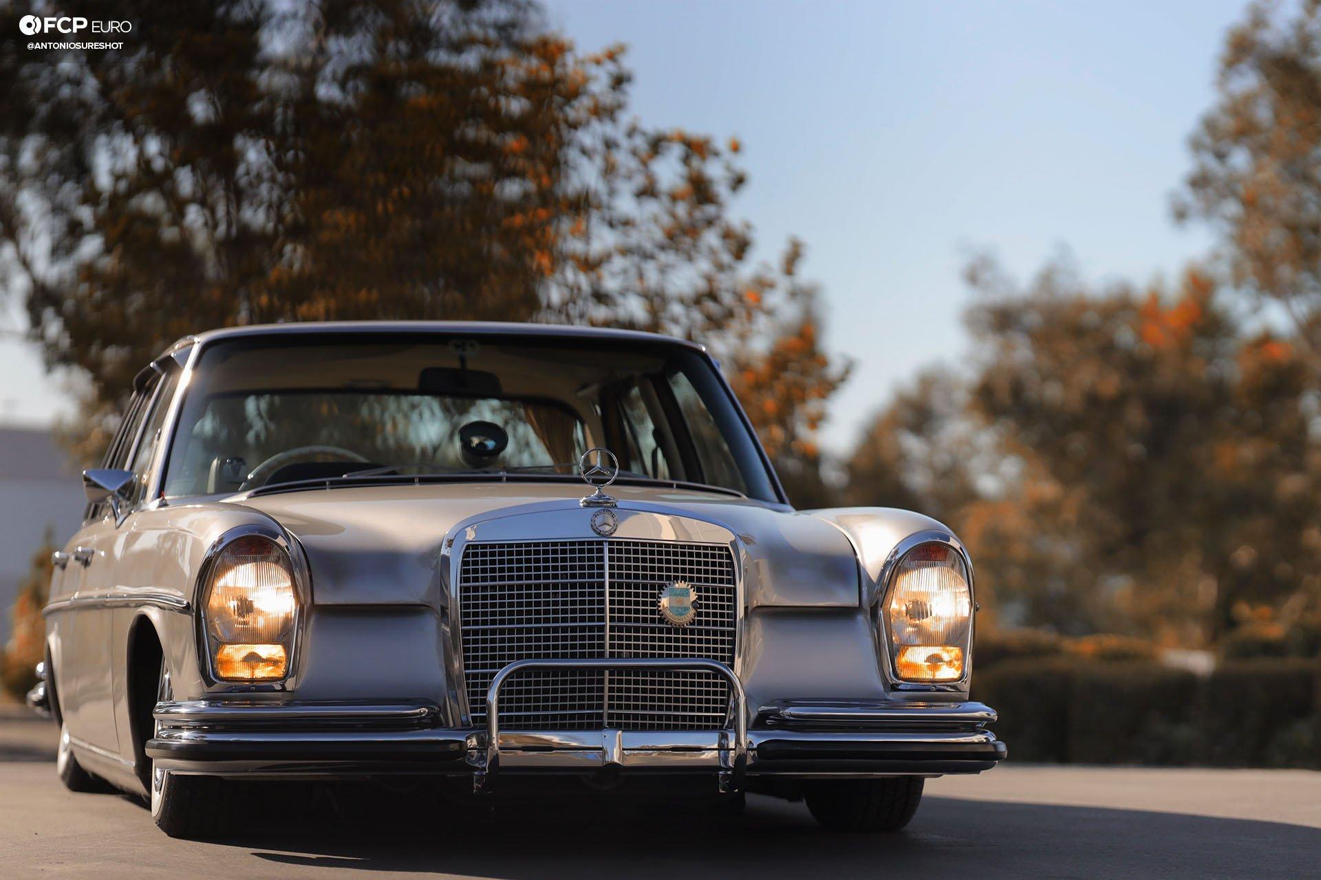 RHD 1972 Mercedes W108 280SE EOSR9809