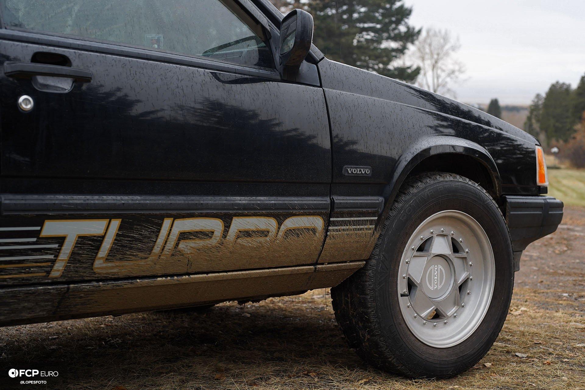 Swedish Metal Overlanding Volvo 940 Turbo Wagon Wheels
