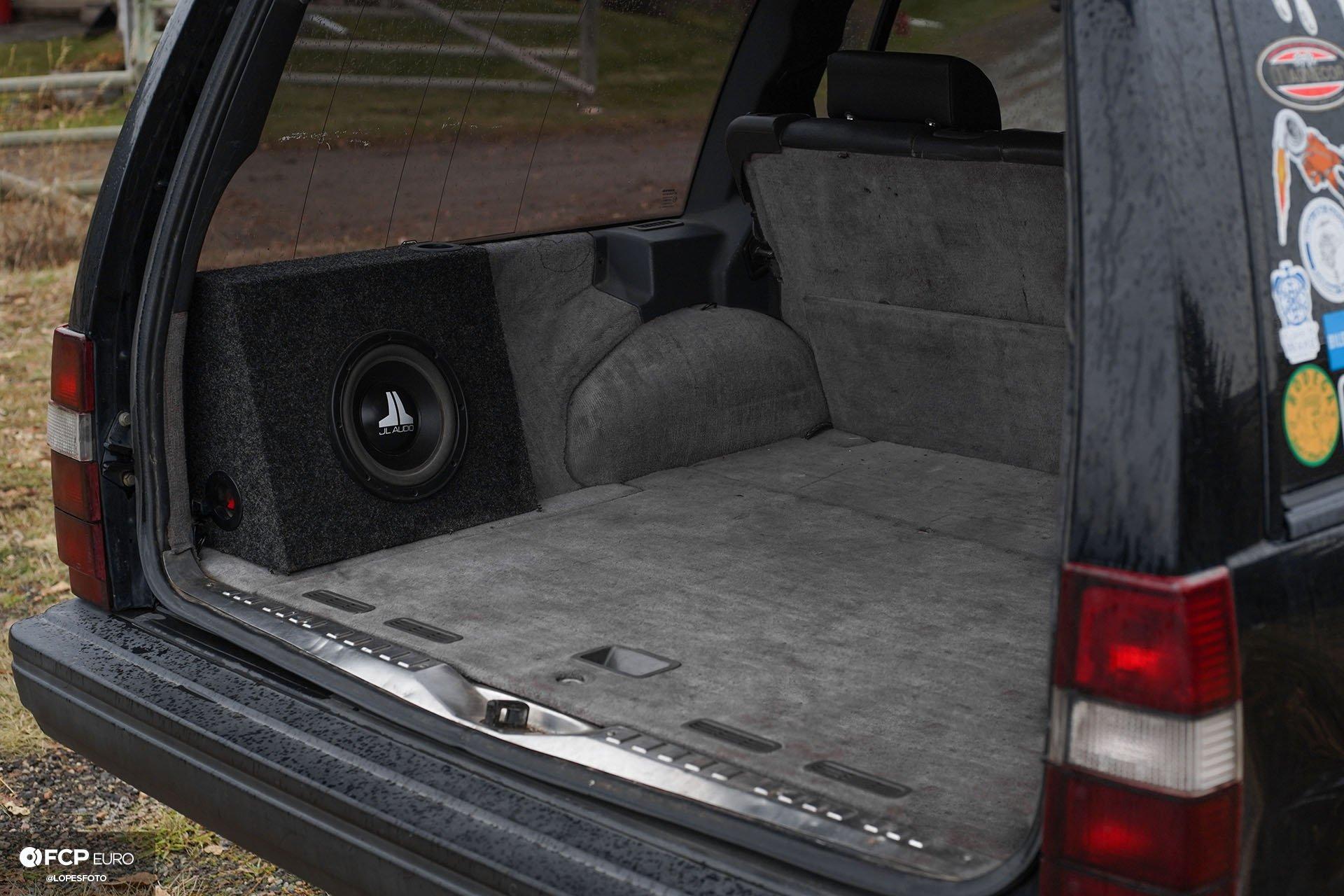 Swedish Metal Overlanding Volvo 940 Turbo Wagon Rear Hatch