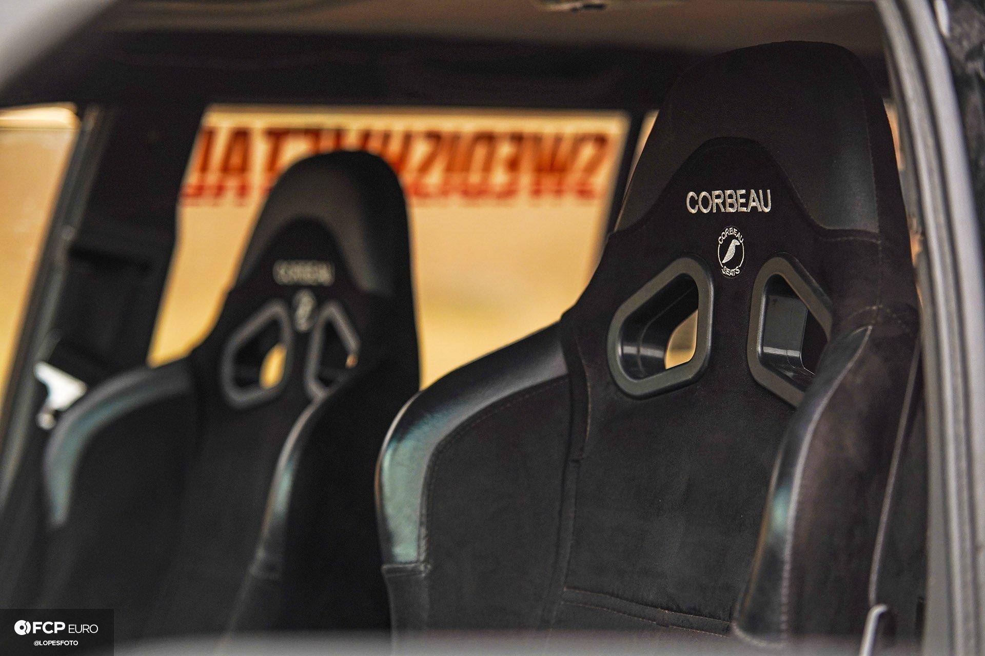 Swedish Metal Overlanding Volvo 940 Turbo Wagon Corbeau A4 Seats