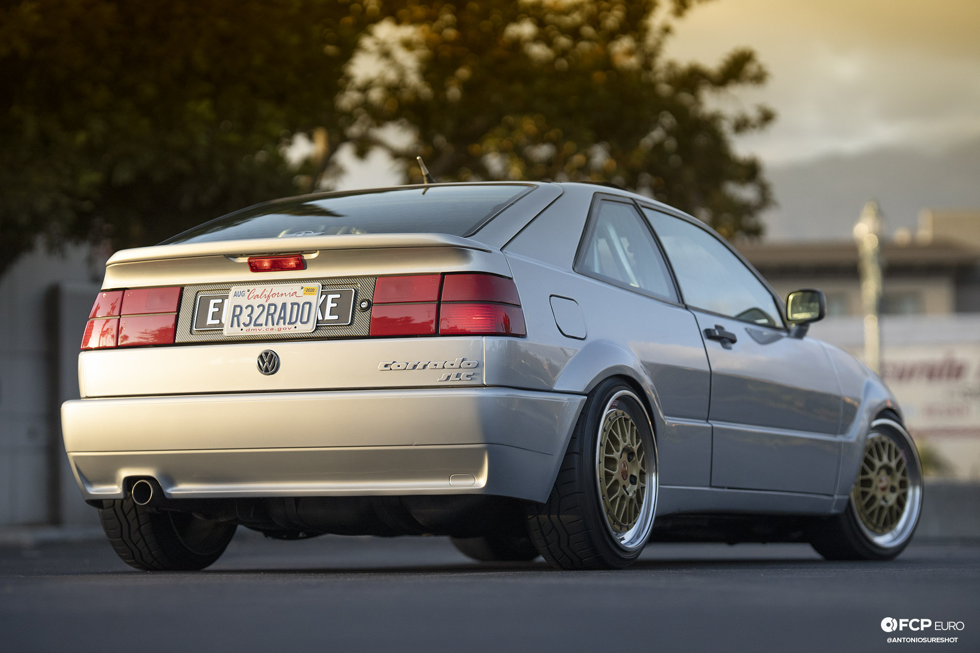 VW Corrado R32 Rear Quarter