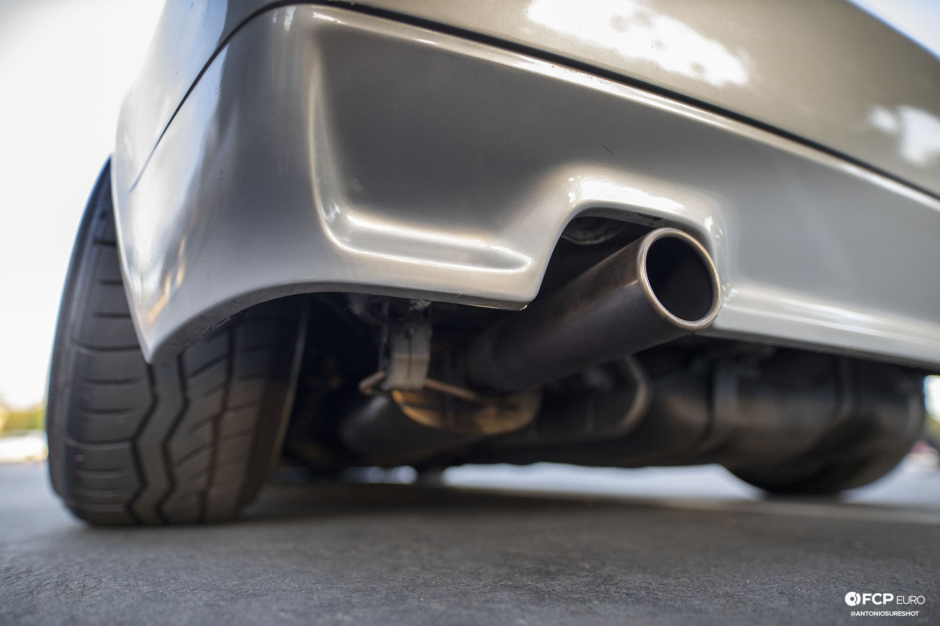 VW Corrado R32 Exhaust Tip