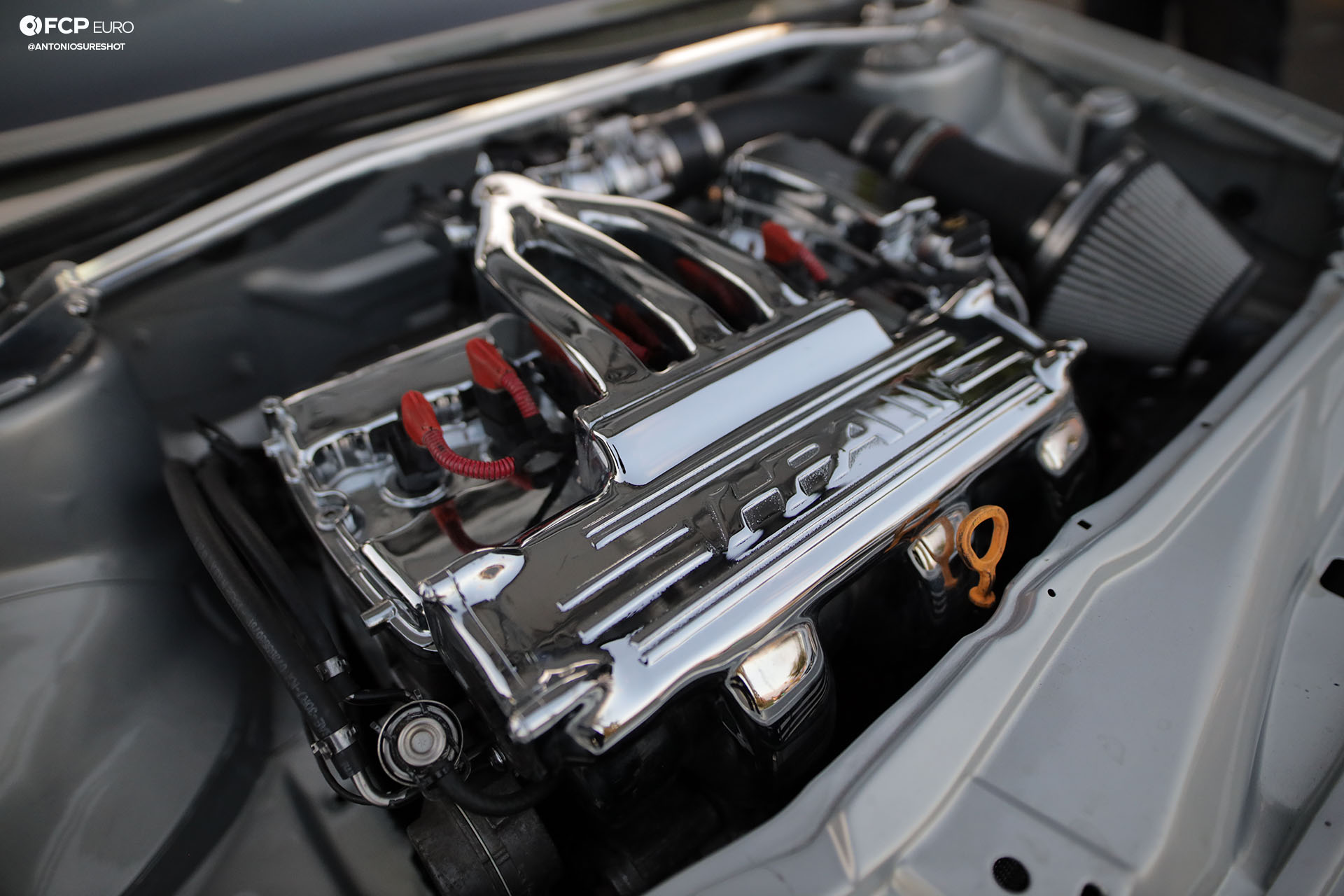 VW Corrado R32 VR6 Engine Bay