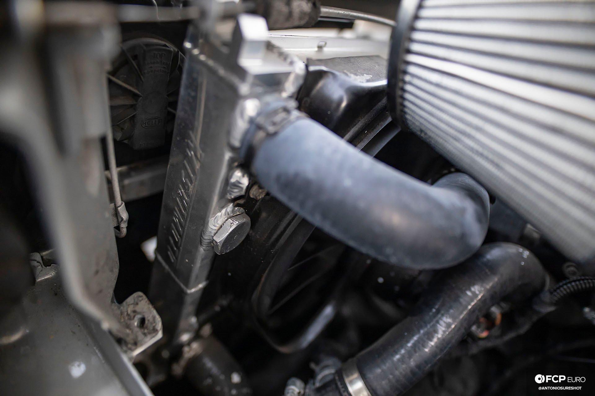 VW Corrado R32 Mishimoto Cooling System