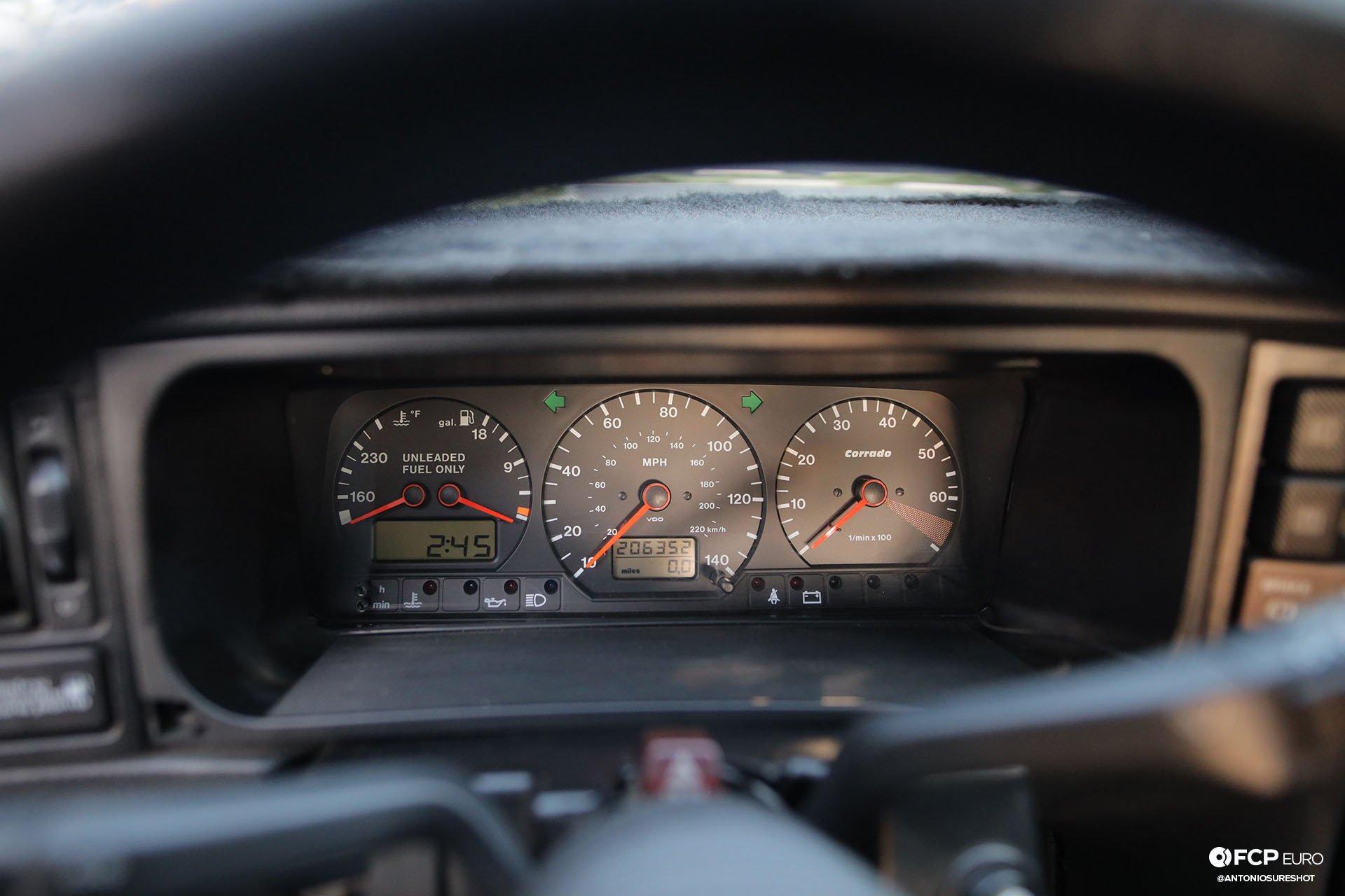 VW Corrado R32 Gauge Cluster