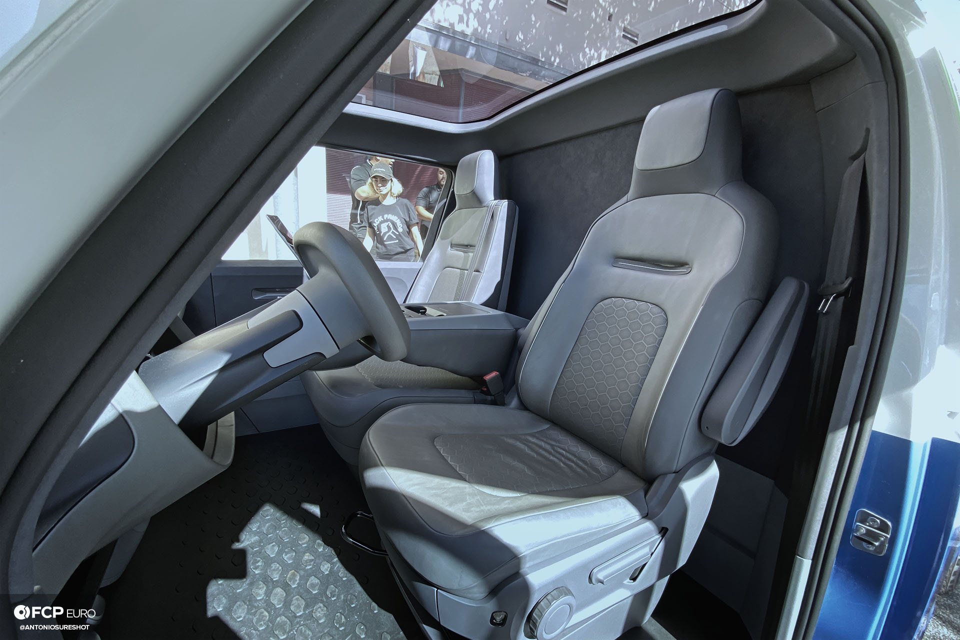 VW ID Buzz Cargo Nike Blue Ribbon Sports IMG_0480 interior