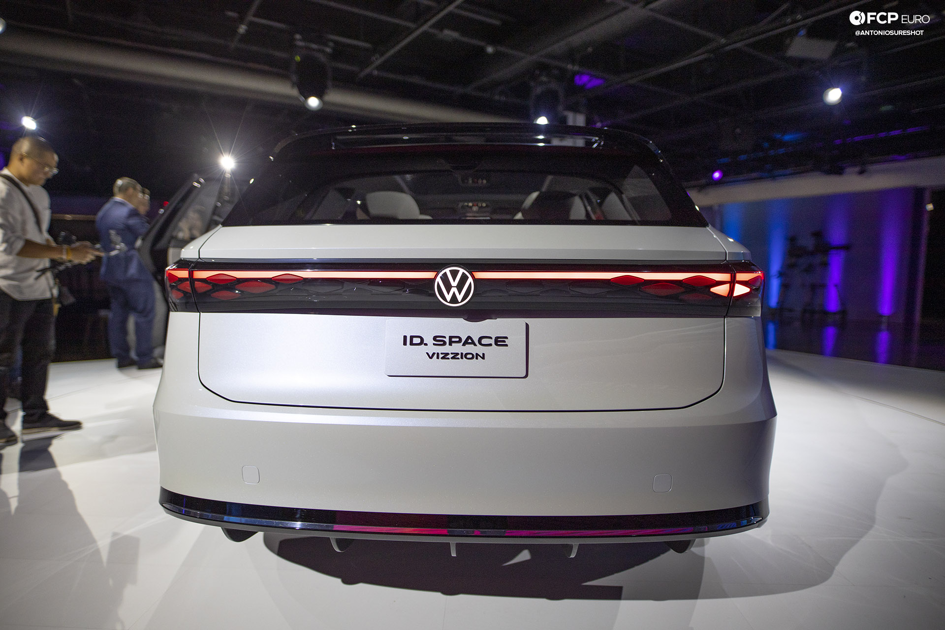 Volkswagen VW ID Vizzion Electric Future Petersen Museum ID. R