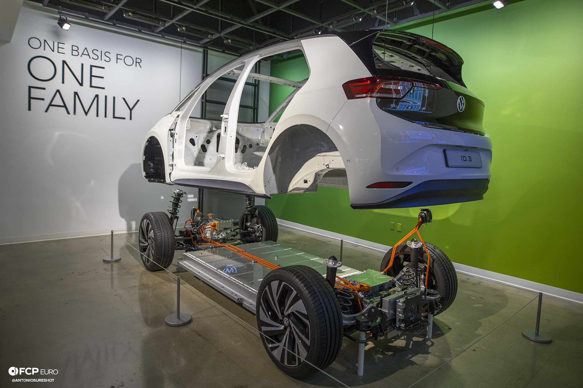 Volkswagen VW ID Vizzion Electric Future Petersen Museum MEB