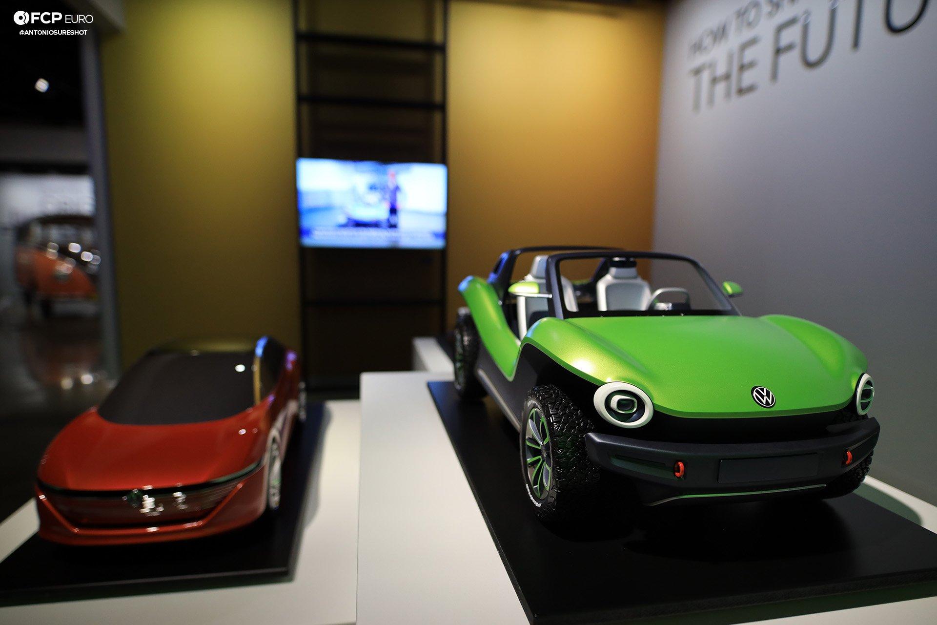 Volkswagen VW ID Vizzion Electric Future Petersen Museum Buggy