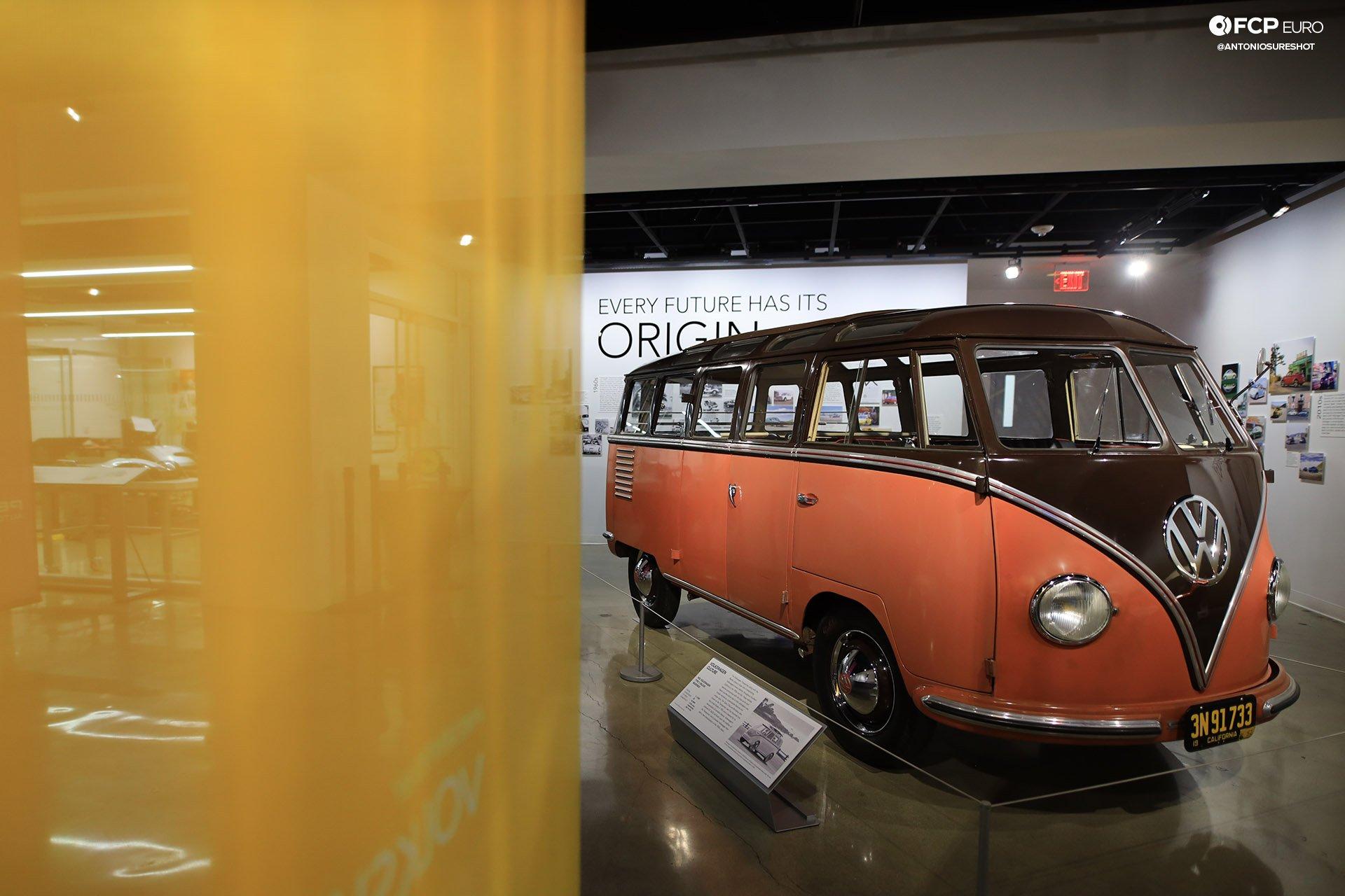 Volkswagen VW ID Vizzion Electric Future Petersen Museum Bus