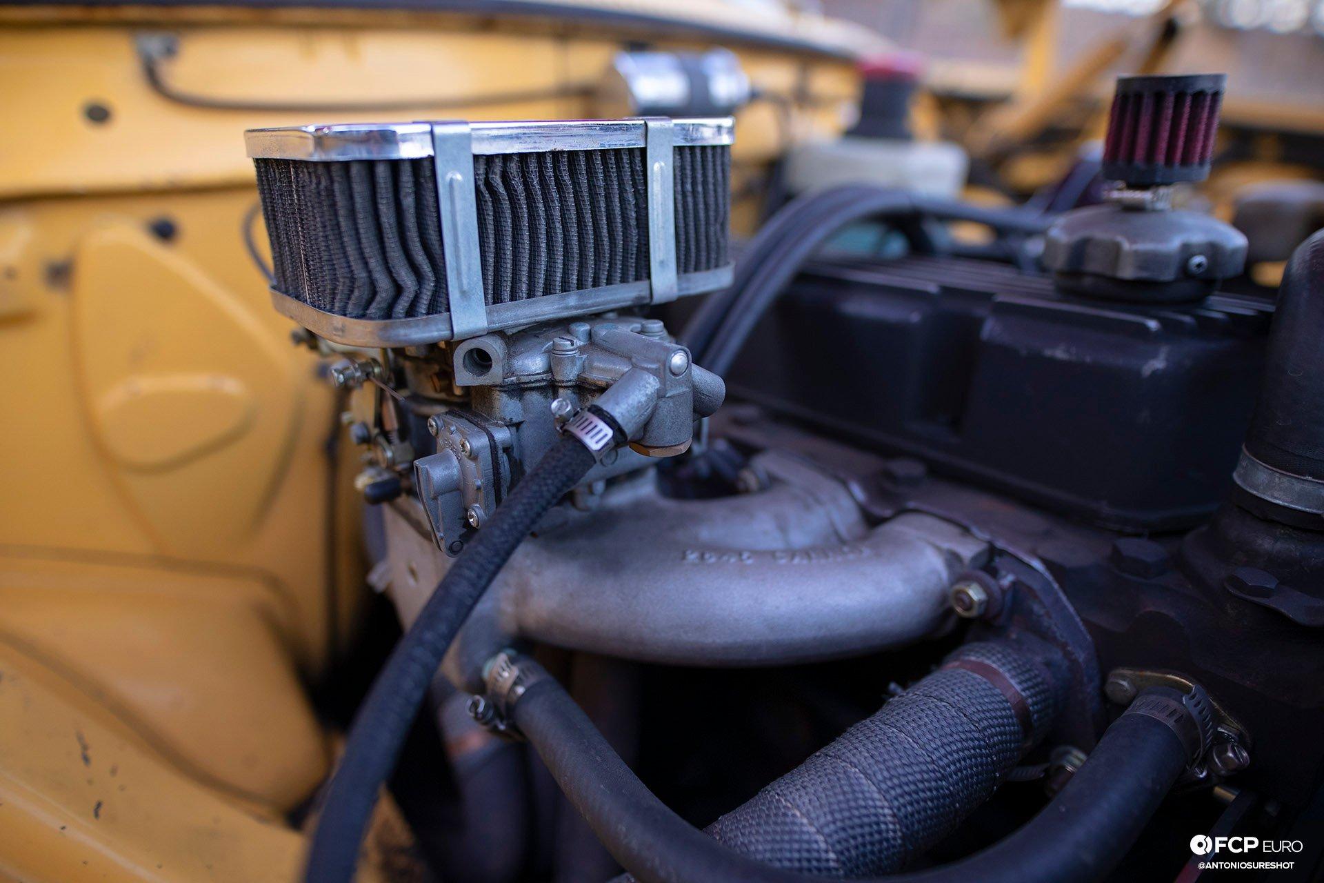 Volvo 142S Weber carburetor Cannon Manifold 1DX26726
