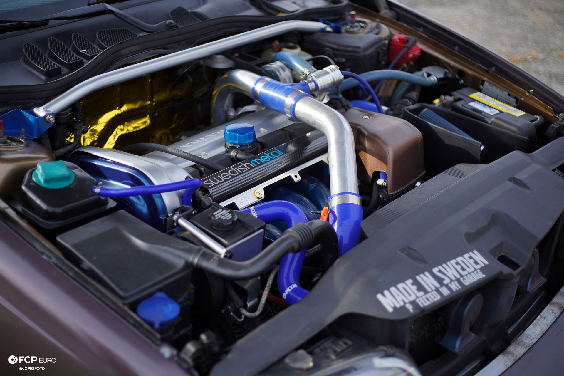 Volvo S70 T5M Turbo Engine Bay