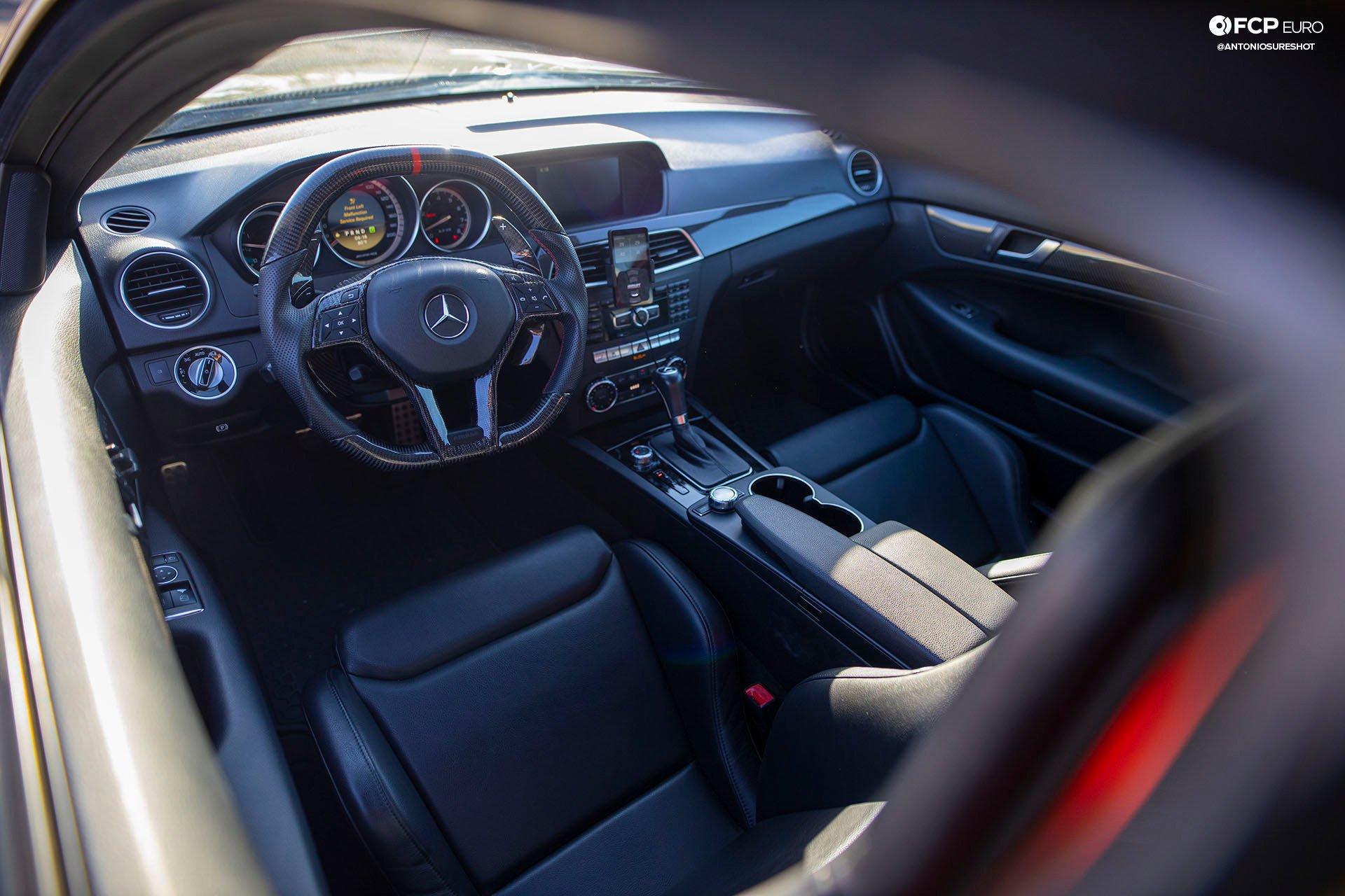 Weistec Supercharged Mercedes-AMG C63 Liberty Walk Interior