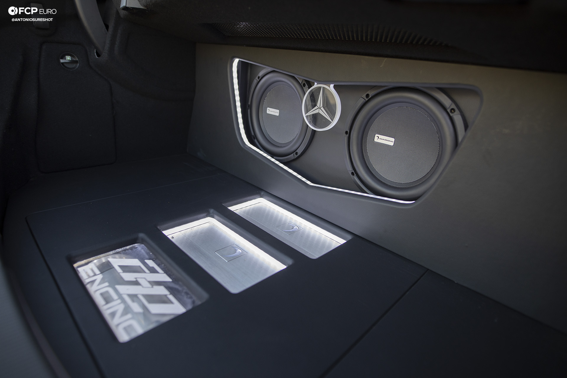 Weistec Supercharged Mercedes-AMG C63 Liberty Walk Subwoofers