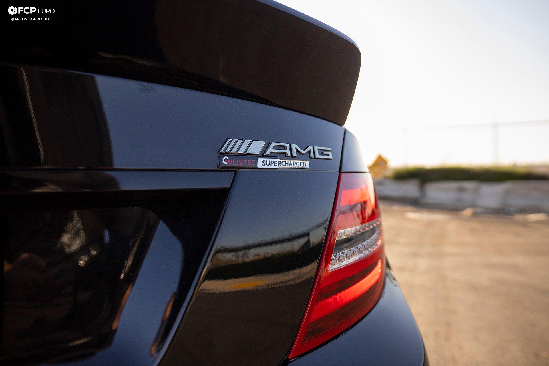 Weistec Supercharged Mercedes-AMG C63 Liberty Walk Badges