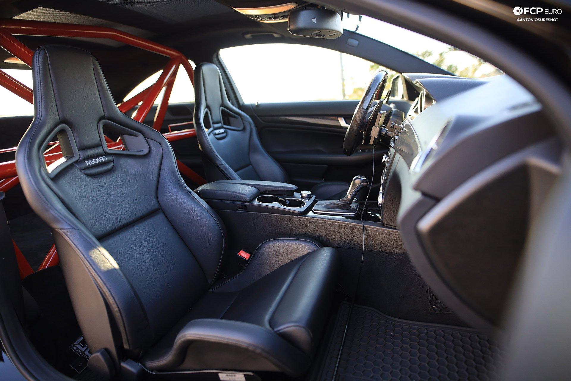 Weistec Supercharged Mercedes-AMG C63 Liberty Walk Recaro Seats
