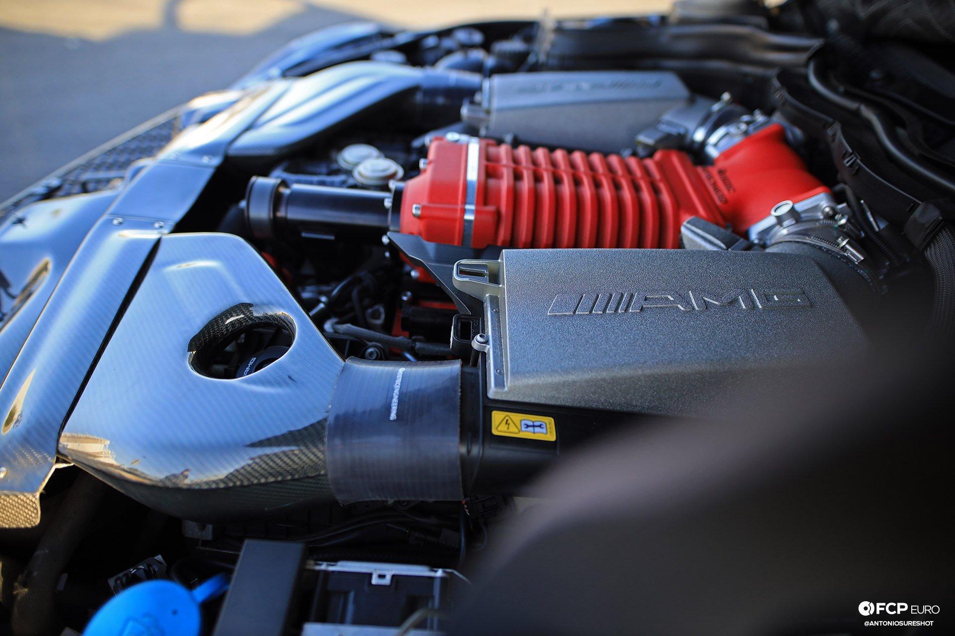 Weistec Supercharged Mercedes-AMG C63 Liberty Walk Supercharger