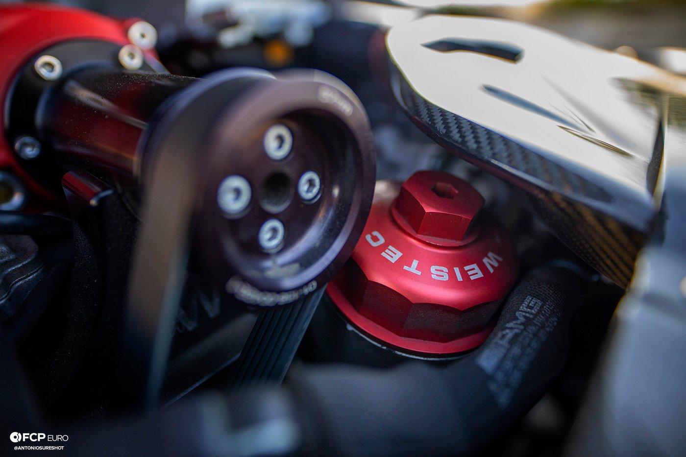Weistec Supercharged Mercedes-AMG C63 Liberty Walk Oil Filter Housing Cap