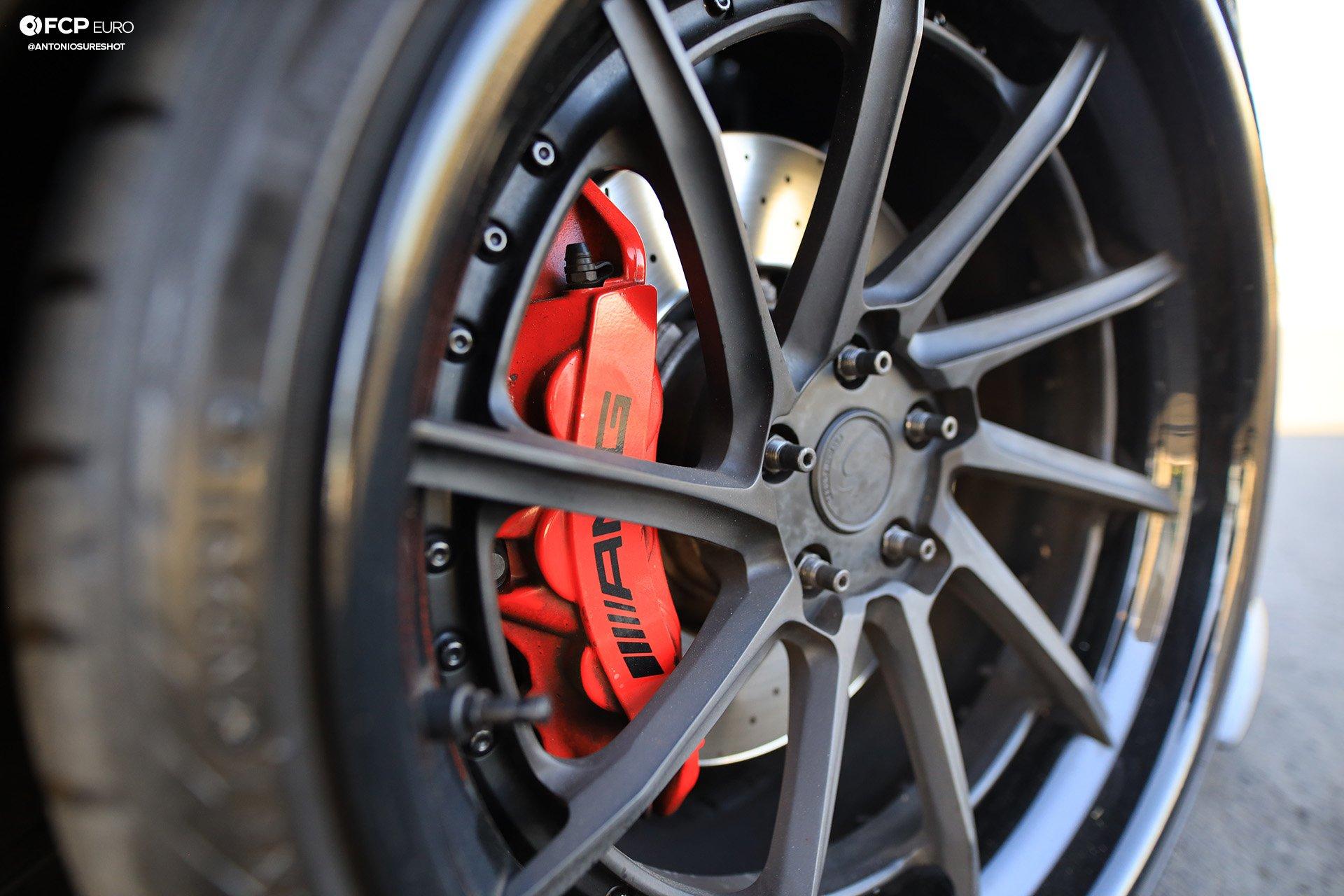 Weistec Supercharged Mercedes-AMG C63 Liberty Walk Savini Wheels