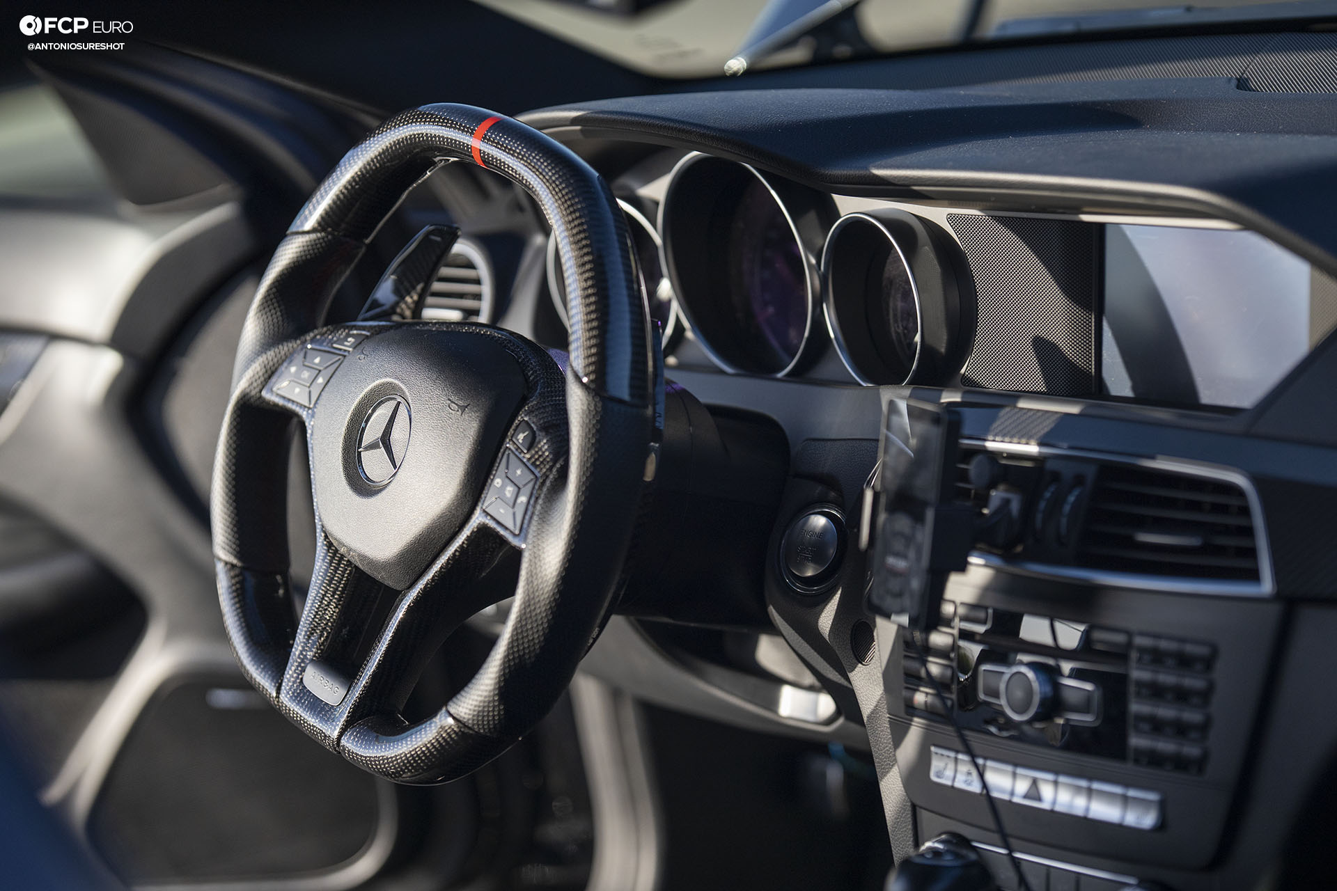 Weistec Supercharged Mercedes-AMG C63 Liberty Walk Steering Wheel