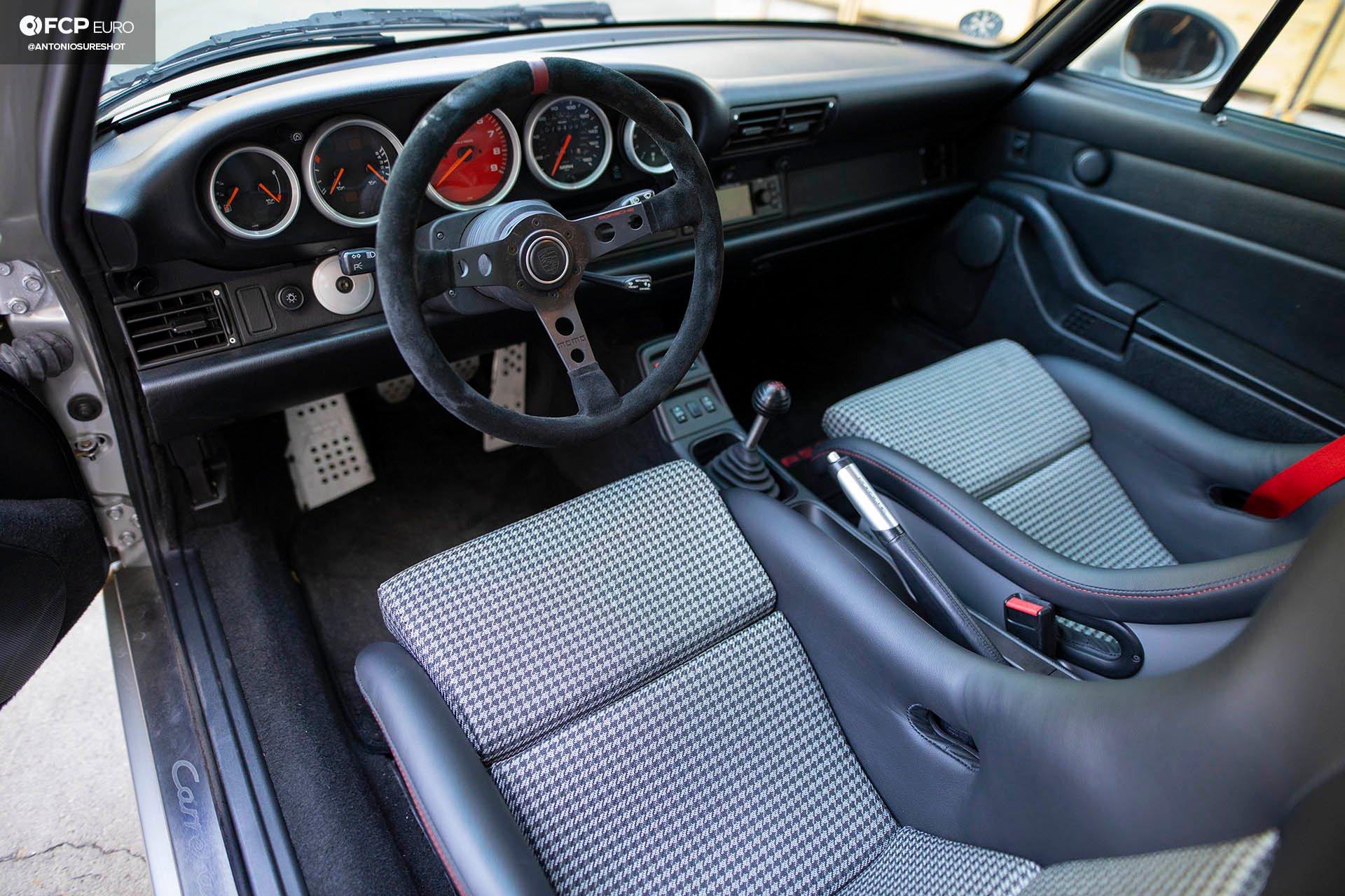 Zuffenhausen 993 Porsche 911 BBS Wheels Recaro EOSR9916