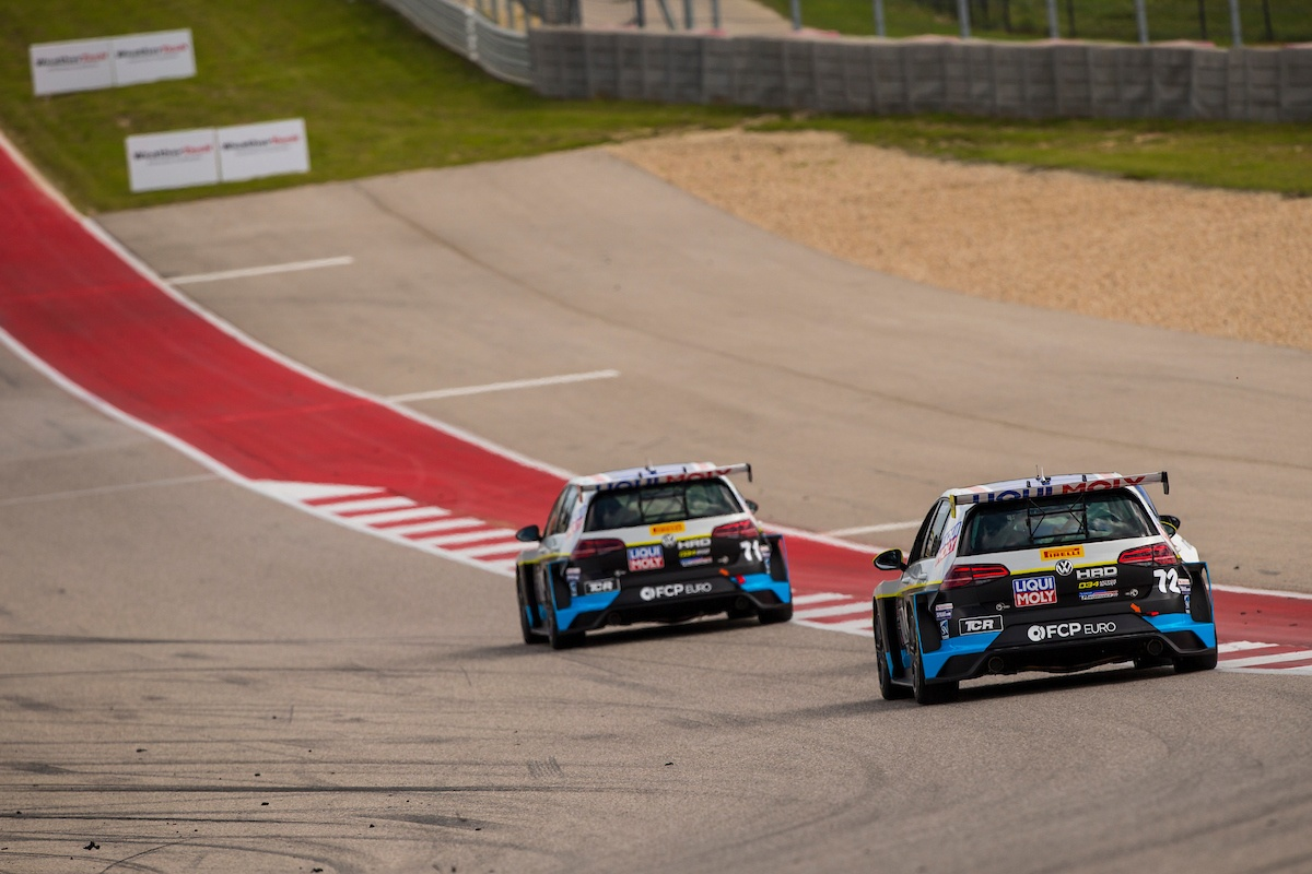 Volkswagen GTI TCRs at Circuit of the Americas