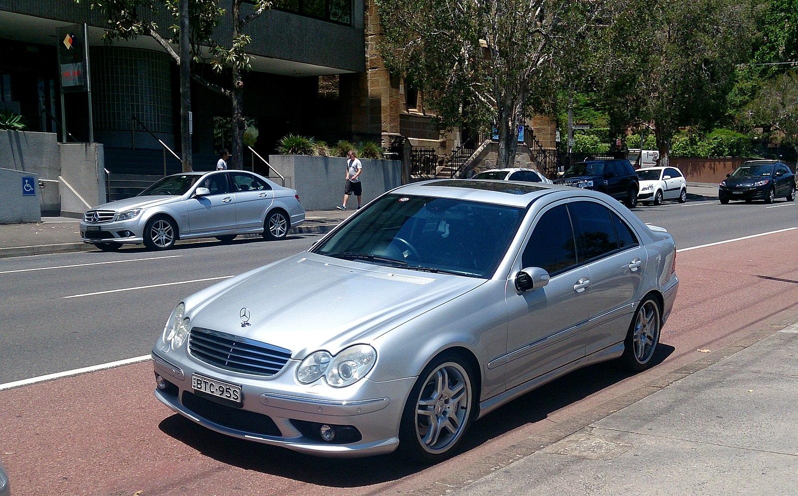 silver-c55-amg
