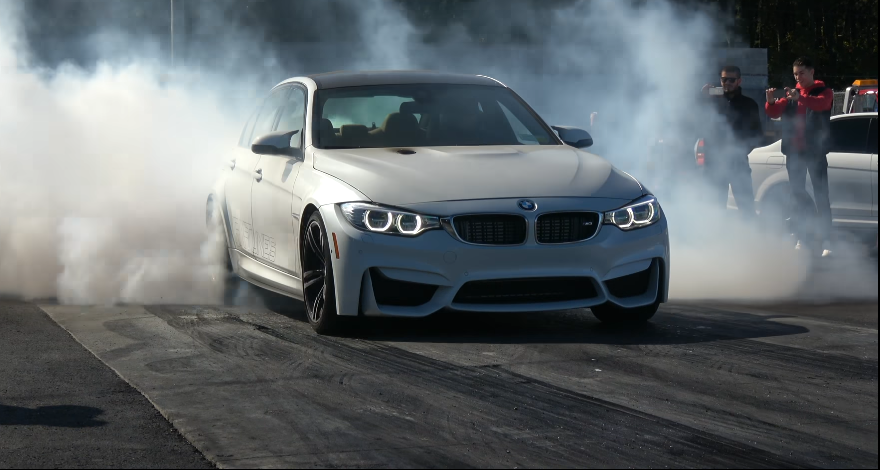 This 1000+ Wheel Horsepower F80 M3 Will Take A Tesla's Lunch Money In A Drag Race
