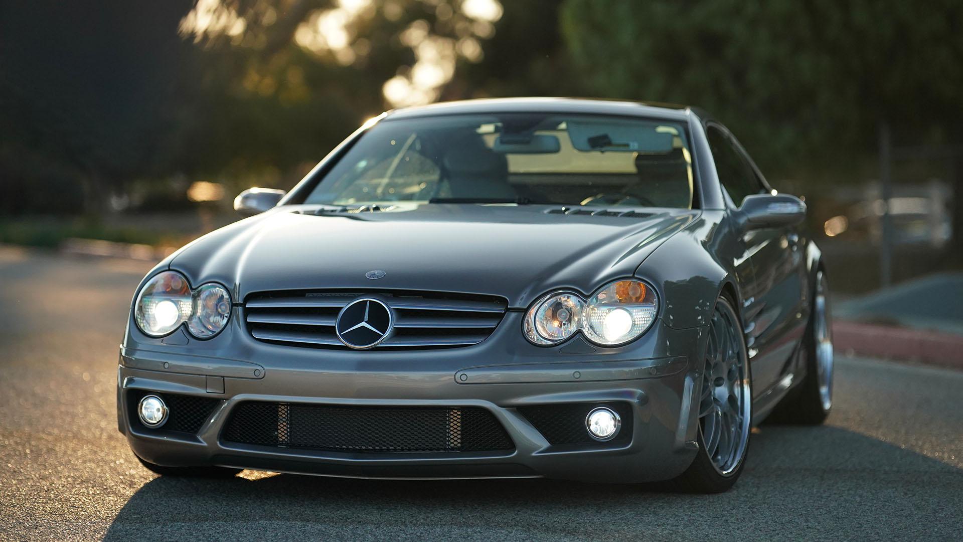 Sleeper Status – Supercharged Mercedes-Benz SL55 AMG 030