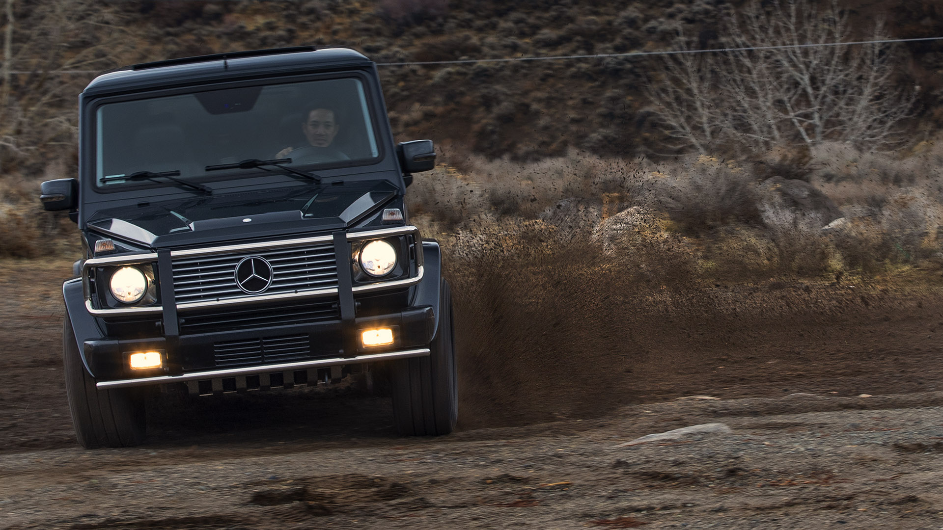 Two Worlds Collide: Mercedes-AMG G55 Geländewagen
