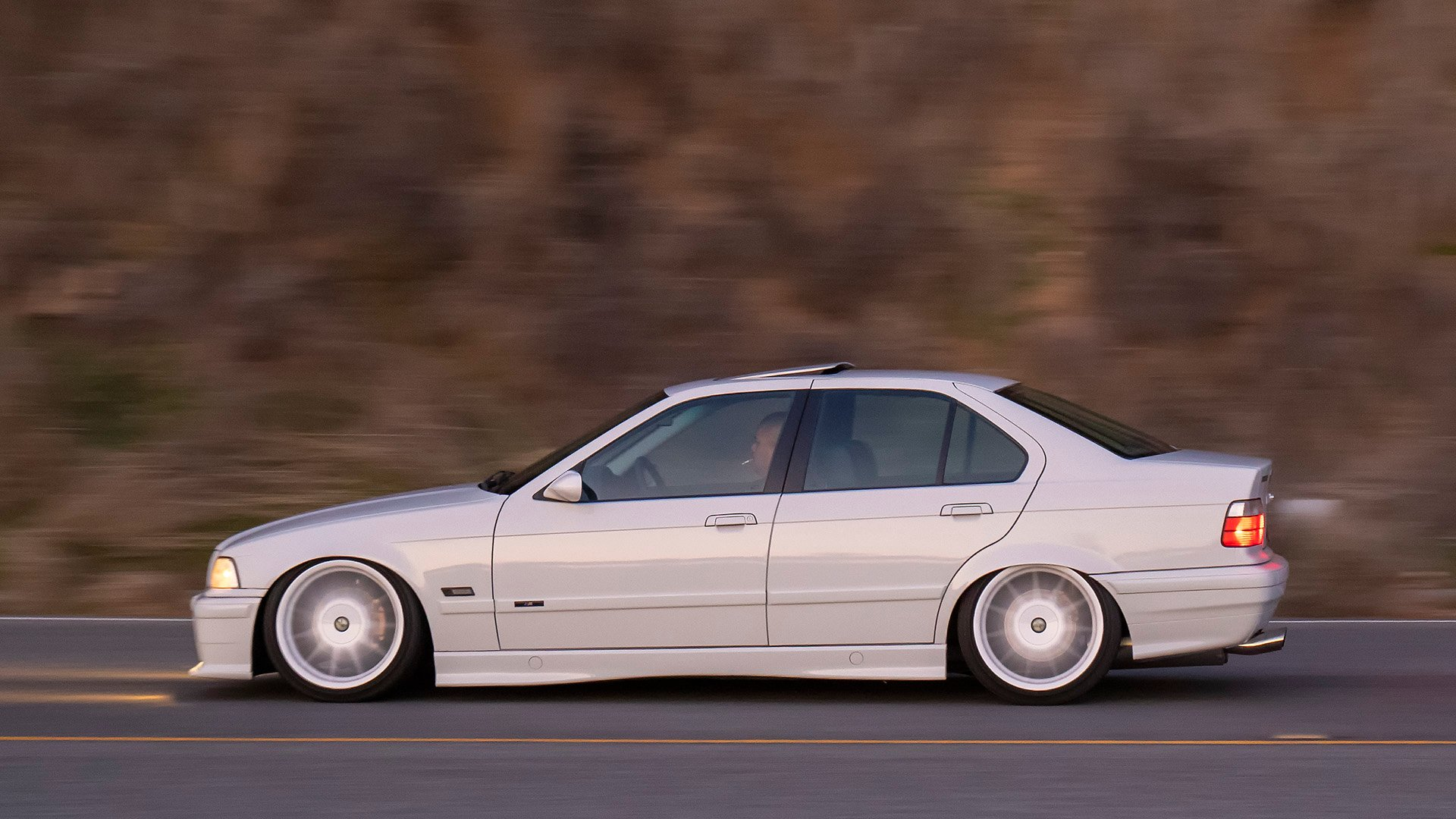 What Dreams Are Made Of - Alpine White BMW E36 328i Sedan
