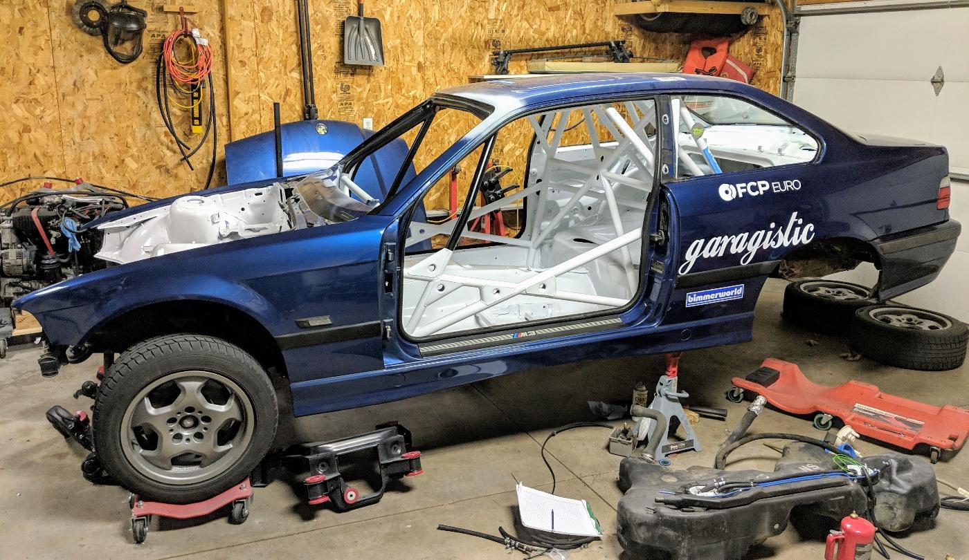 Team Bearded Ryno's E36 M3 Home-Built Rally Car Update