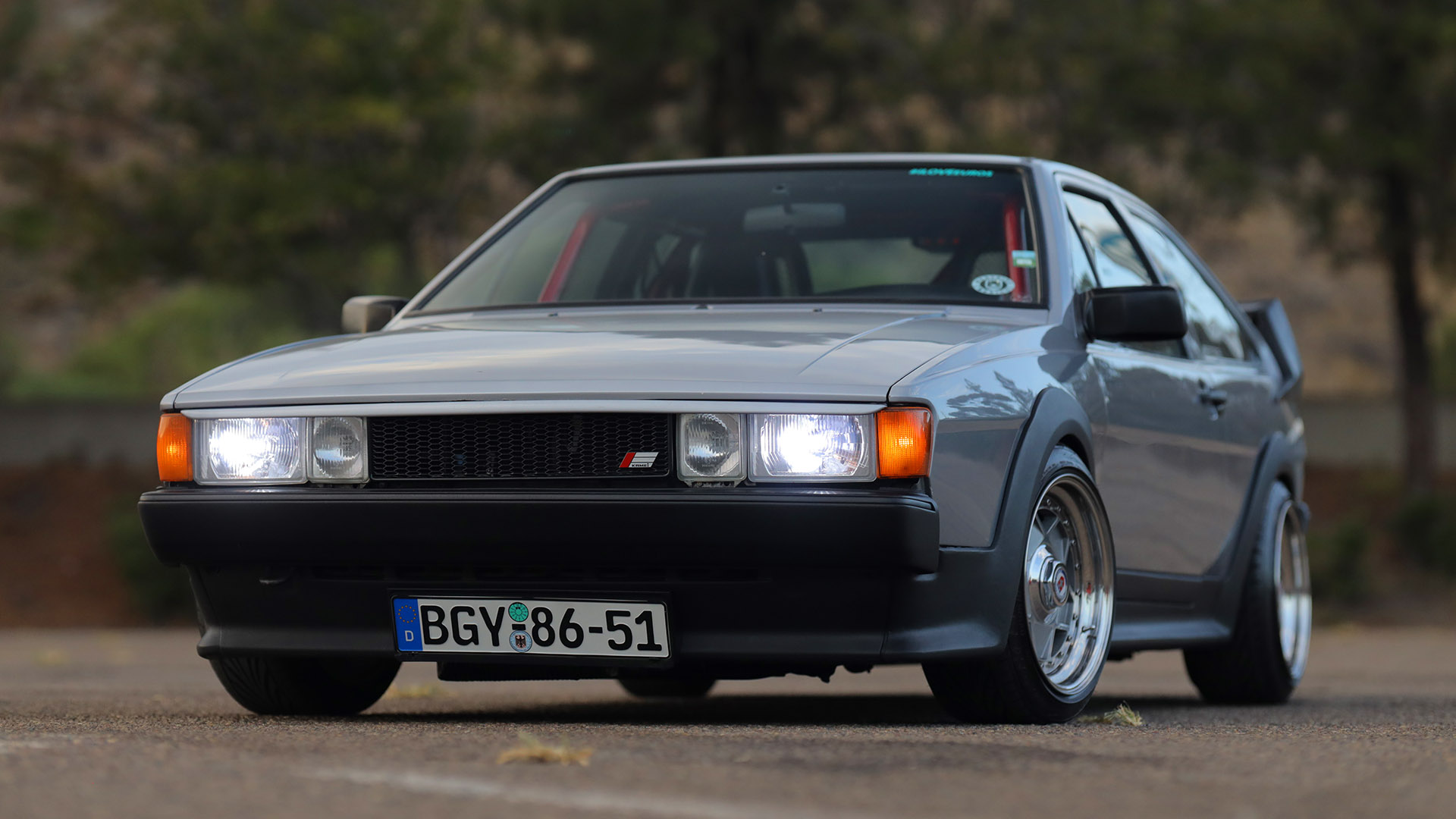Swapped and Dropped - Westside Mexico Volkswagen Scirocco