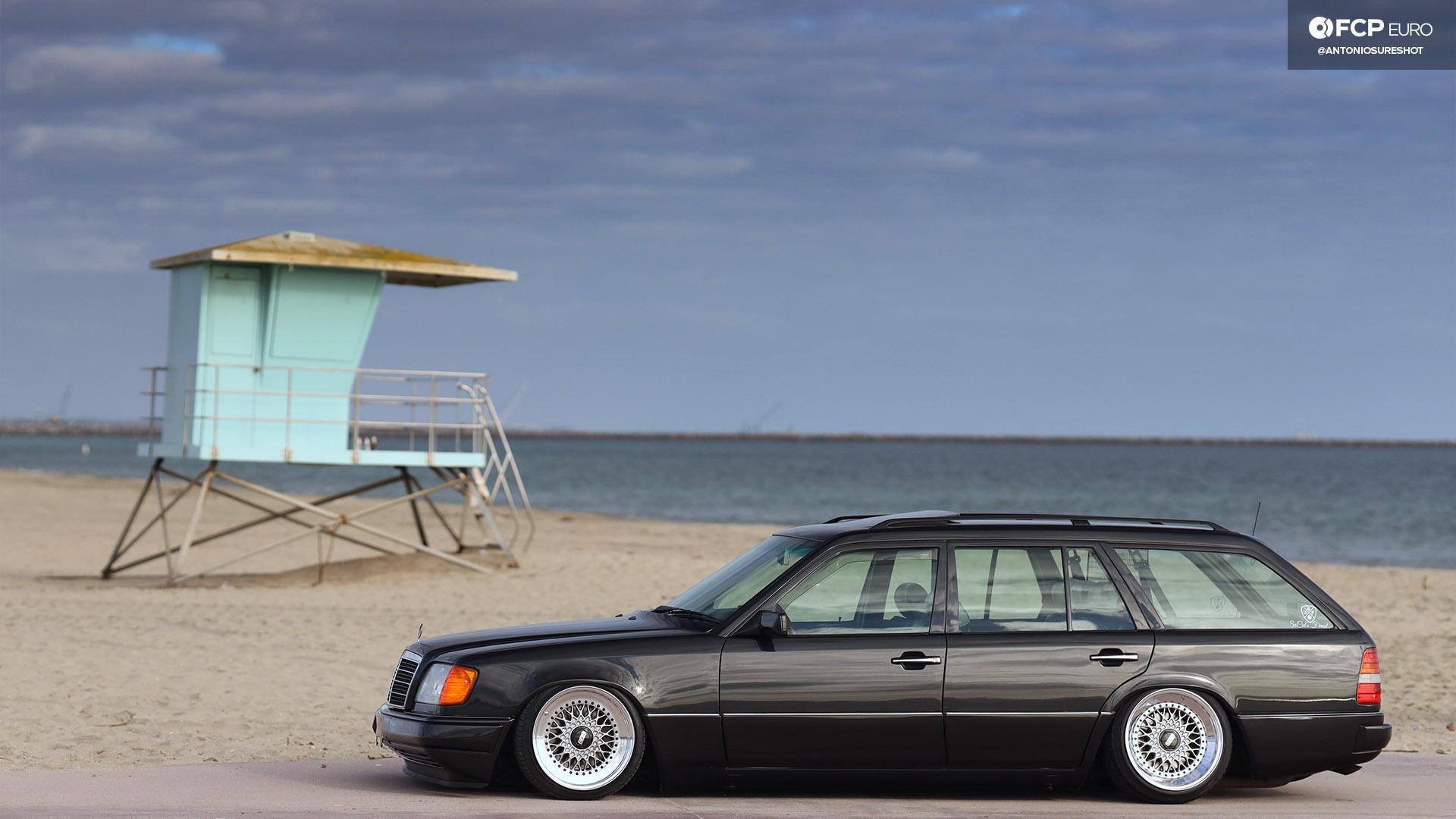 Bringing Back A Dying Breed - Slammed S124 Mercedes-Benz E320 Wagon
