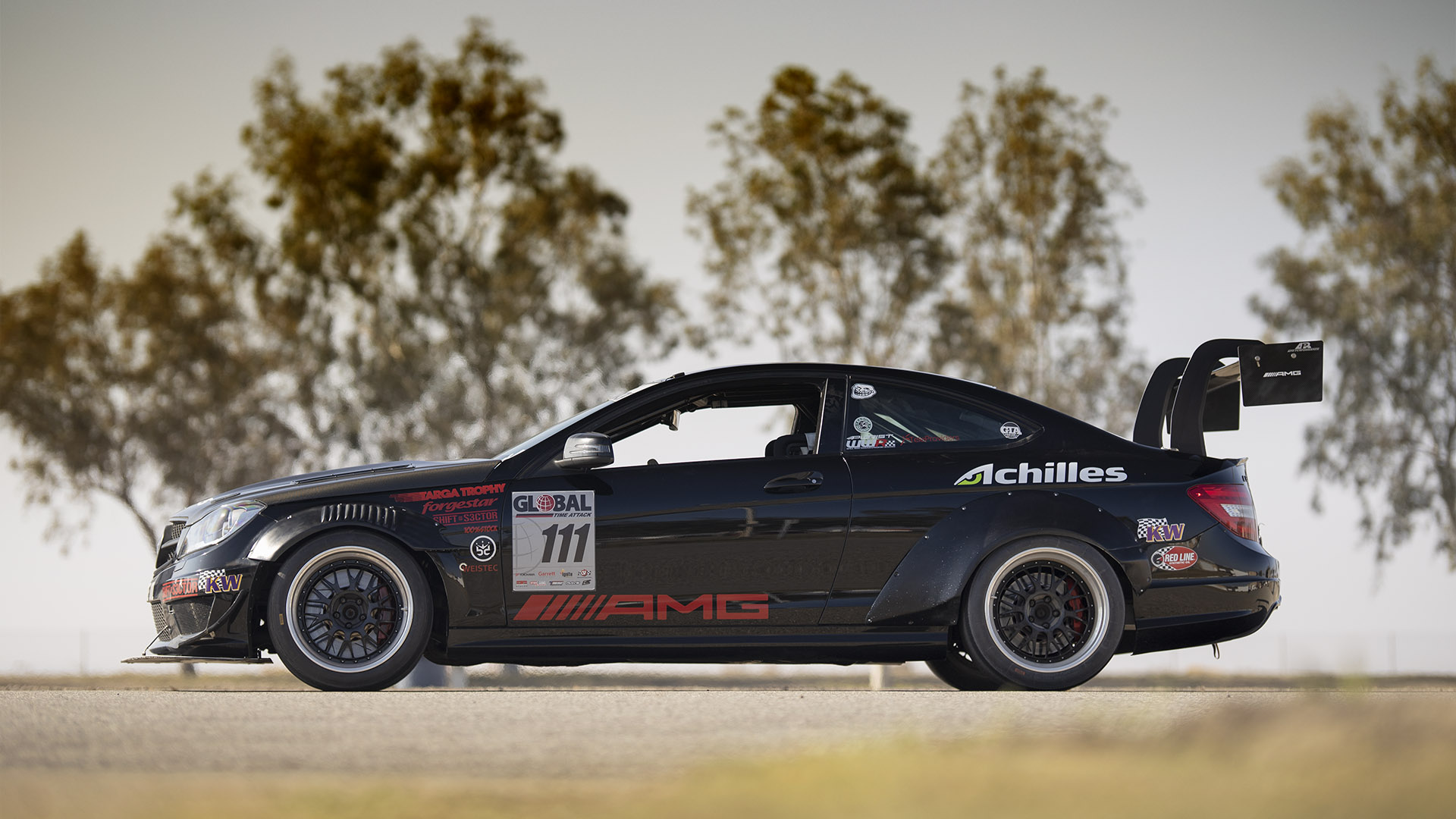 Function Over Form - Global Time Attack AMG C63 Coupe