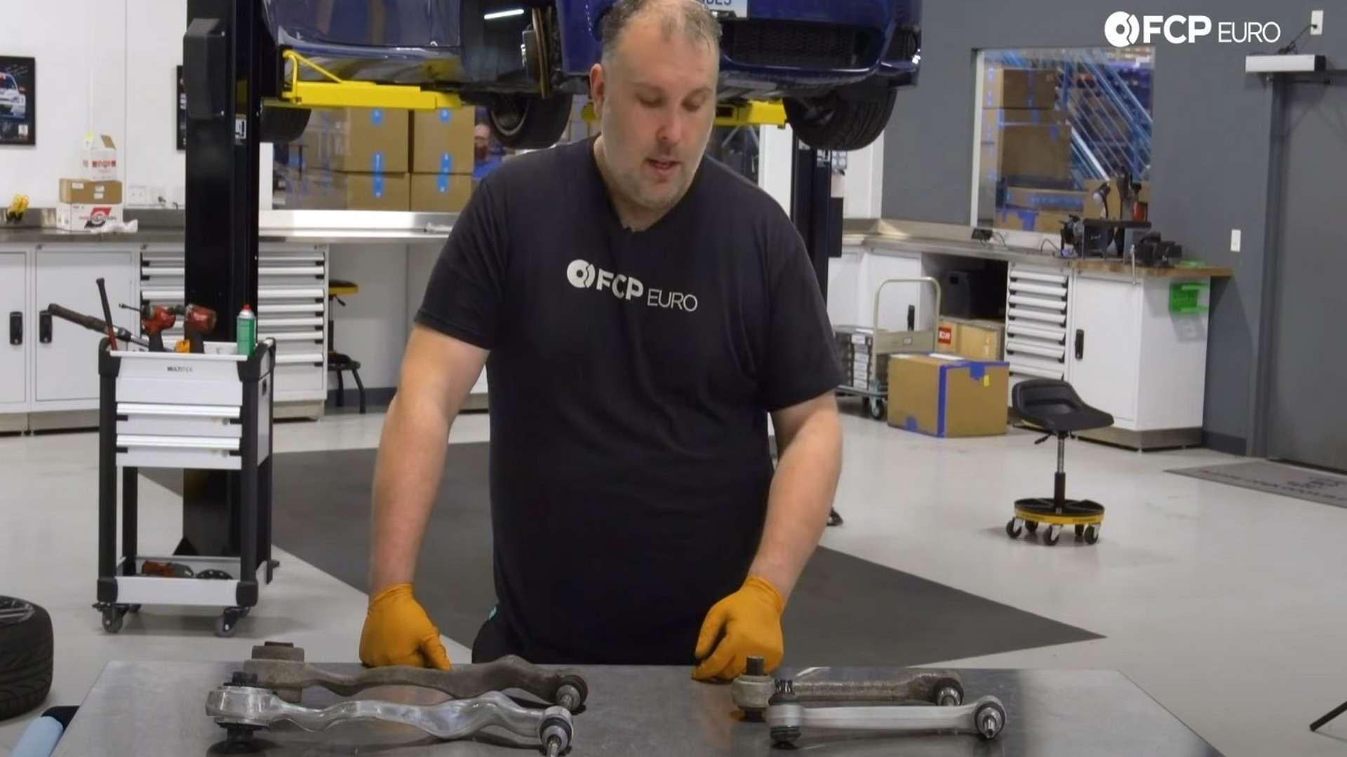 How To Replace & Upgrade BMW E90 Control Arms (BMW M3 Control Arm Upgrade - RWD E90, E91, E92 & E93)