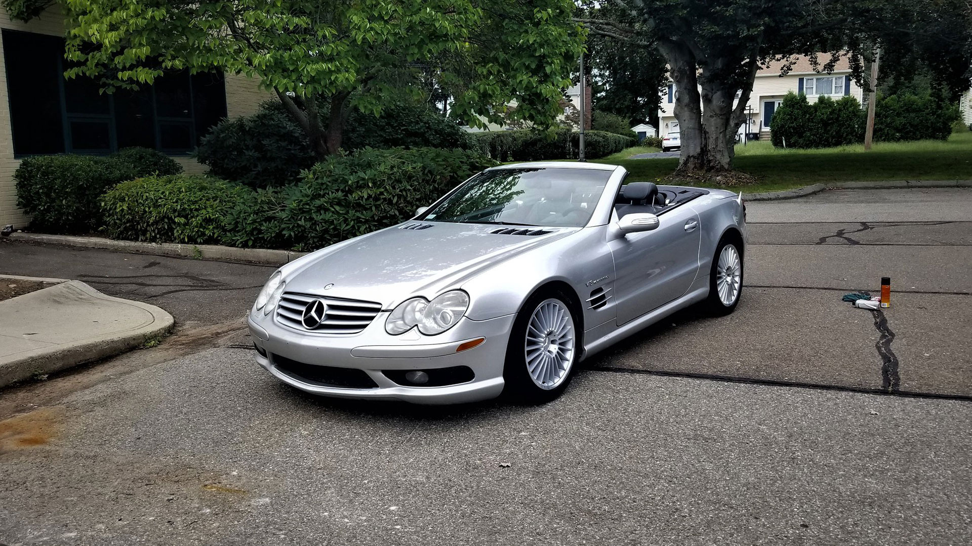 I Bought A 208 MPH Mercedes-Benz SL55 AMG for $15,000