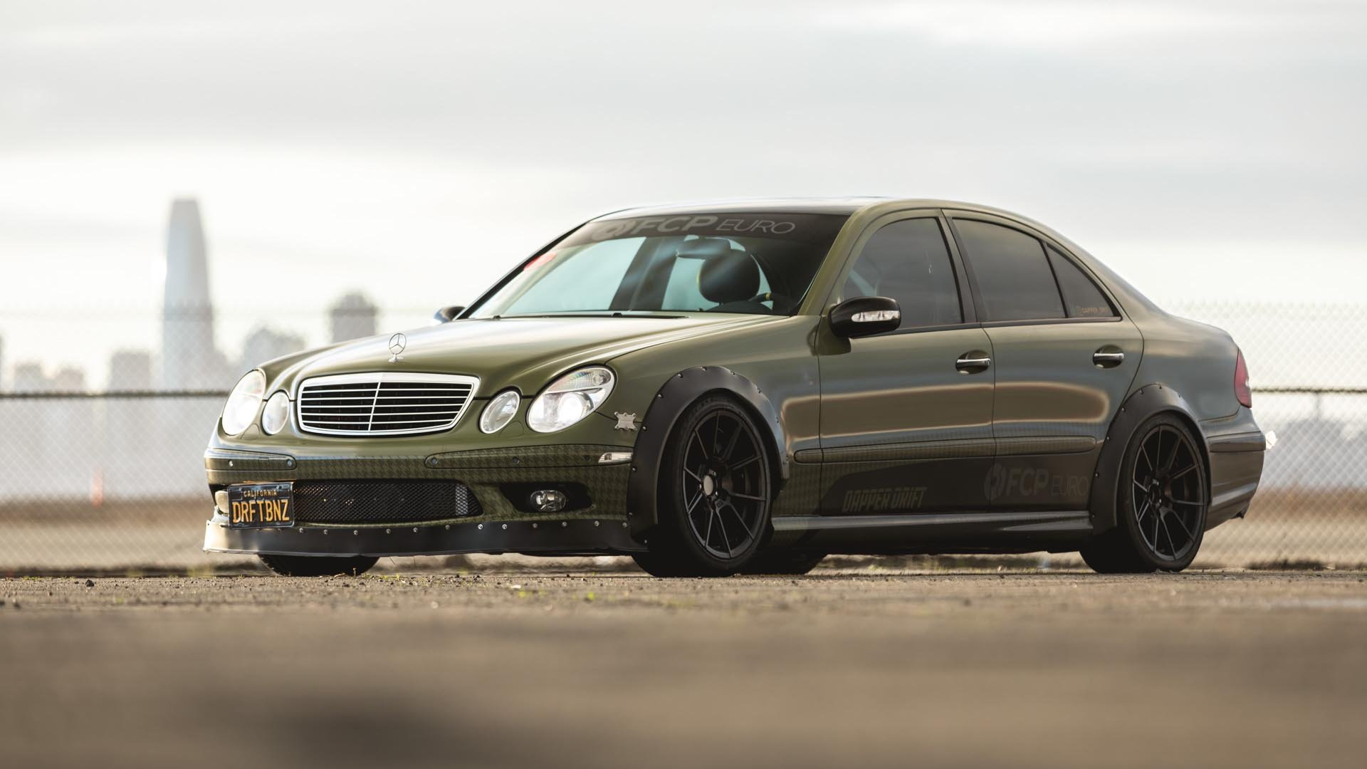 Our 'Dapper Drift' Mercedes-Benz E55 AMG Is Featured On Speedhunters