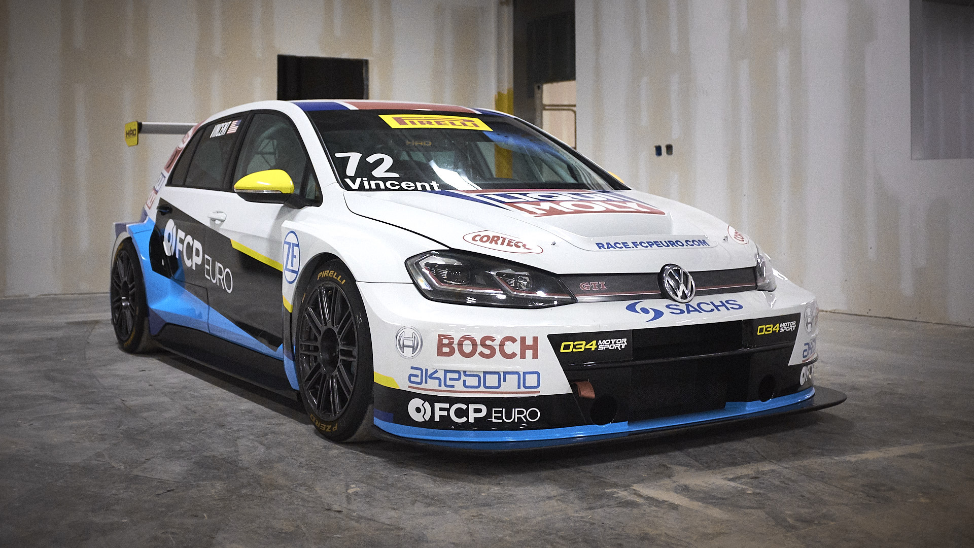 FCP Euro Continues Partnership With 034Motorsport For The 2019 TC America Championship