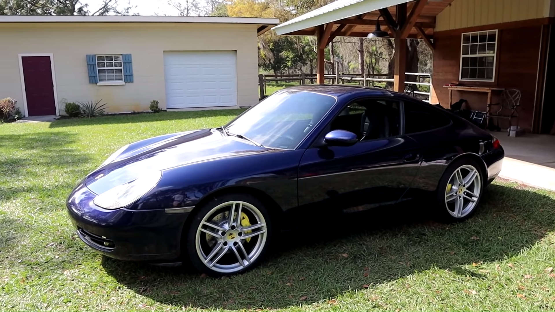 Here's What It Takes To Get A $4000 Totaled 996 Porsche 911 Back On The Road