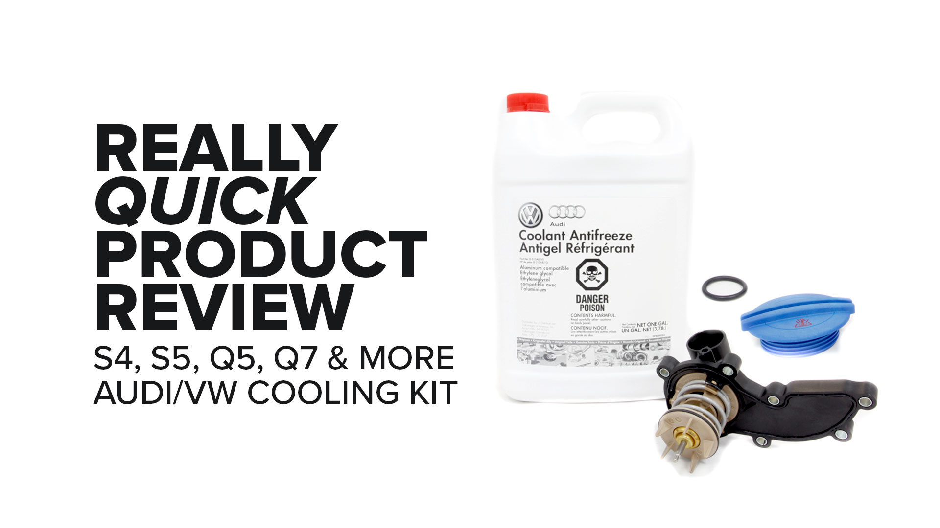 Audi Q5, Q7, A5 & More Cooling System Service Kit - Features And Product Review