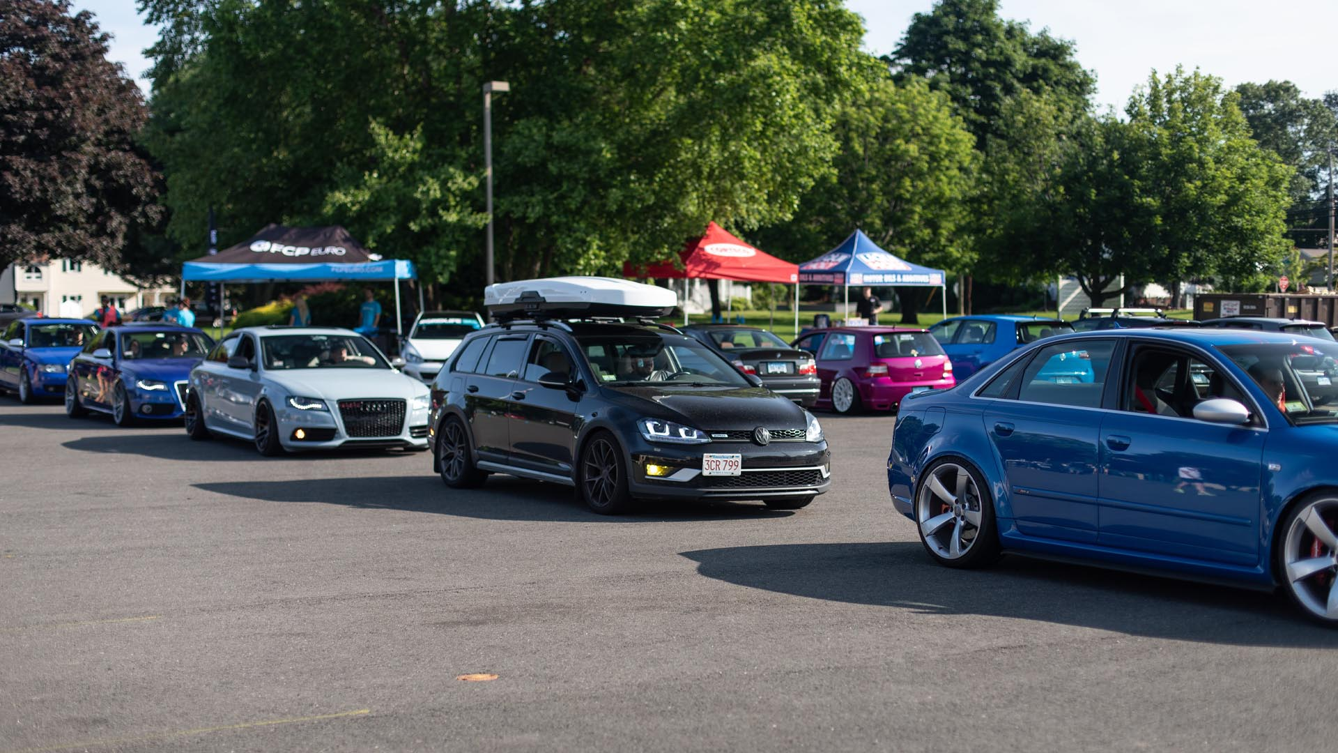 What You Missed From FCP Euro Cars & Coffee - In Photos