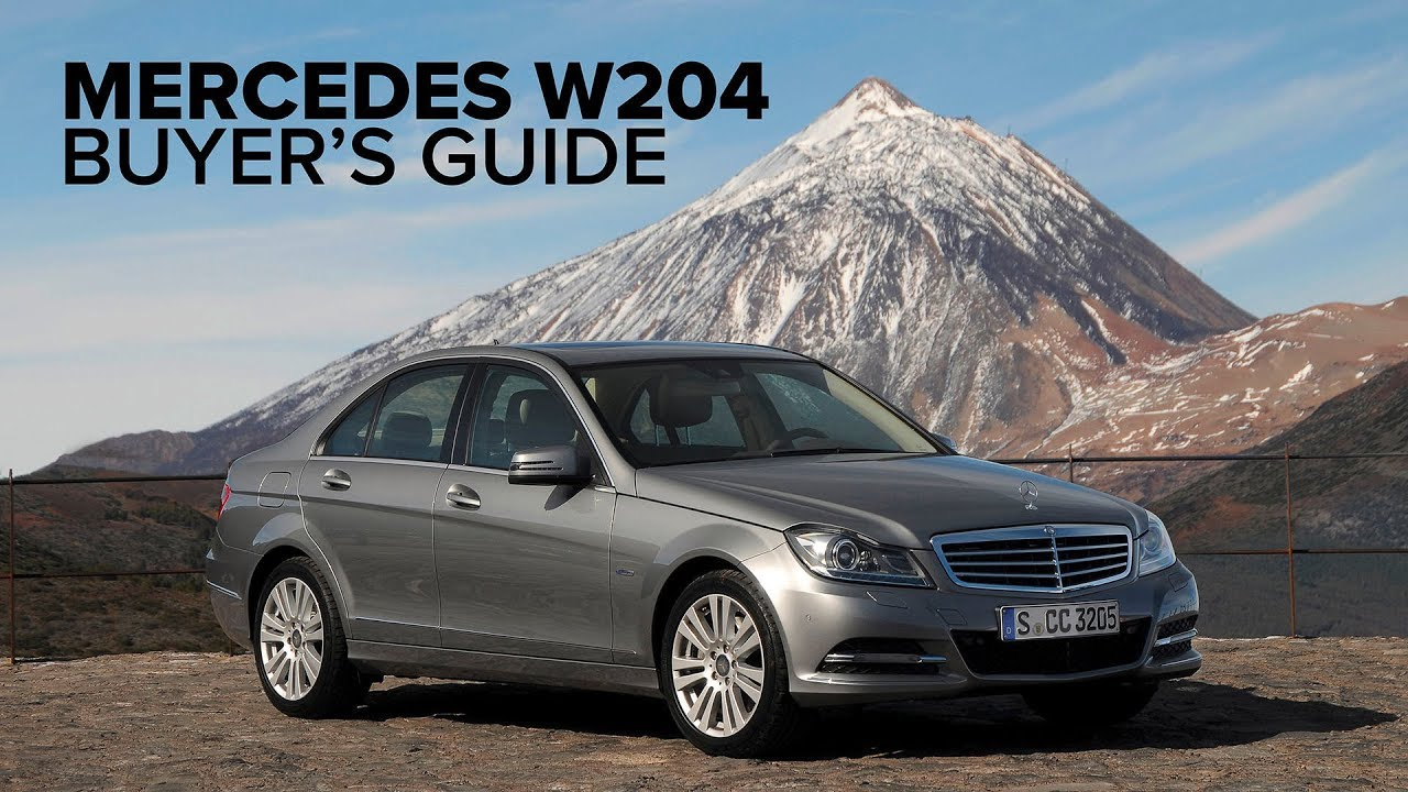 Mercedes-Benz W204 (C300, C350, C63 AMG) Video Buyer's Guide: What You Need To Know Before Buying